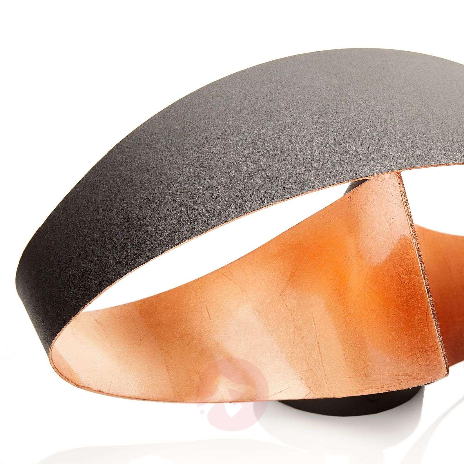 Copper-coloured inside LED wall light Scudo-8525792-01