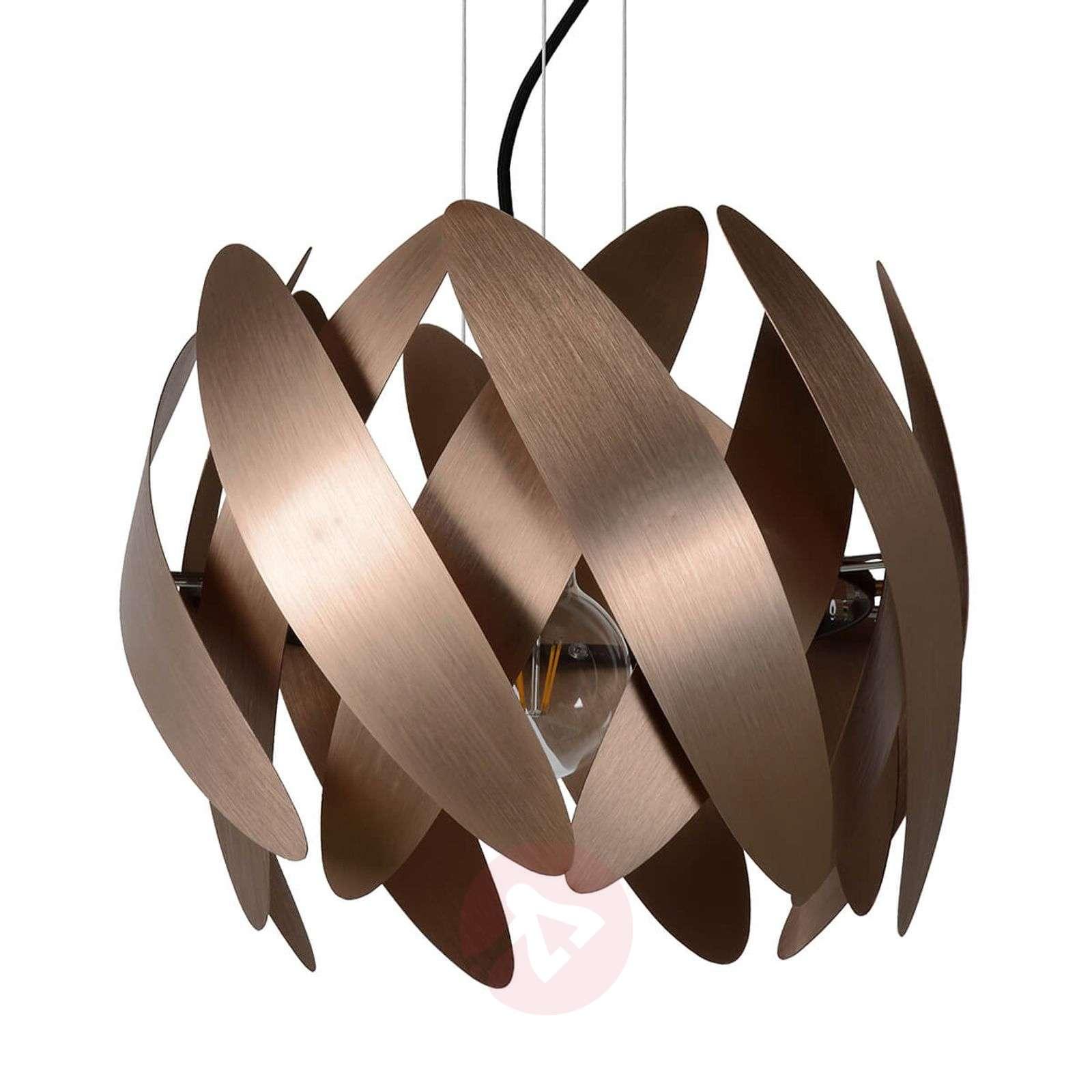 Copper-coloured pendant light Vivana-6055205-01