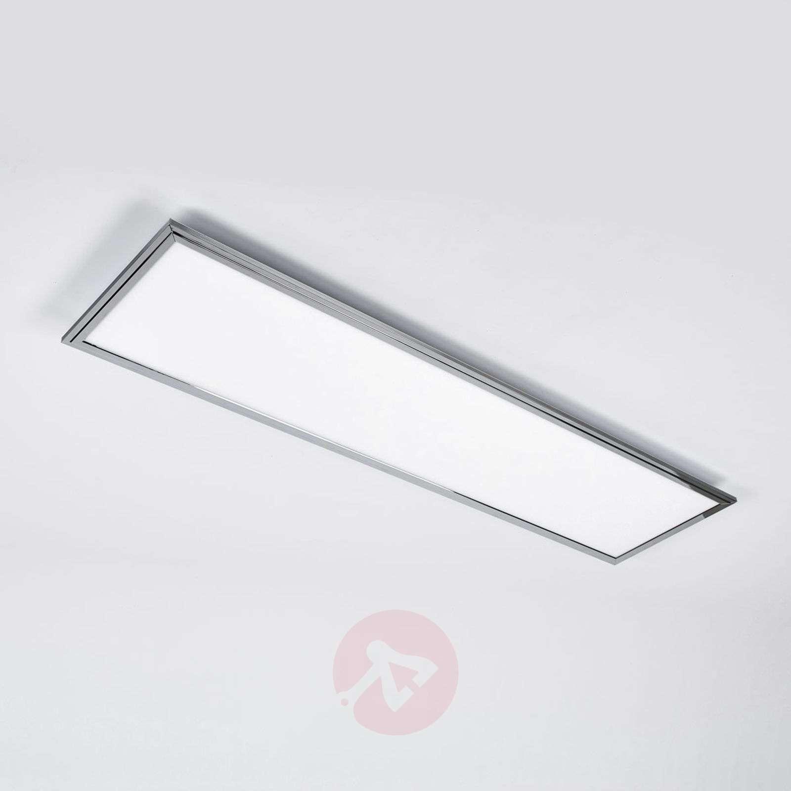 Corinna CCT LED panel, RGB, remote 120 x 30 cm-1558122-02