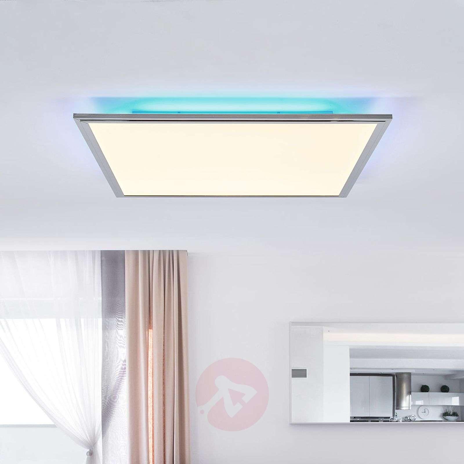 Corinna CCT LED panel, RGB, remote 60 x 60 cm-1558127-01