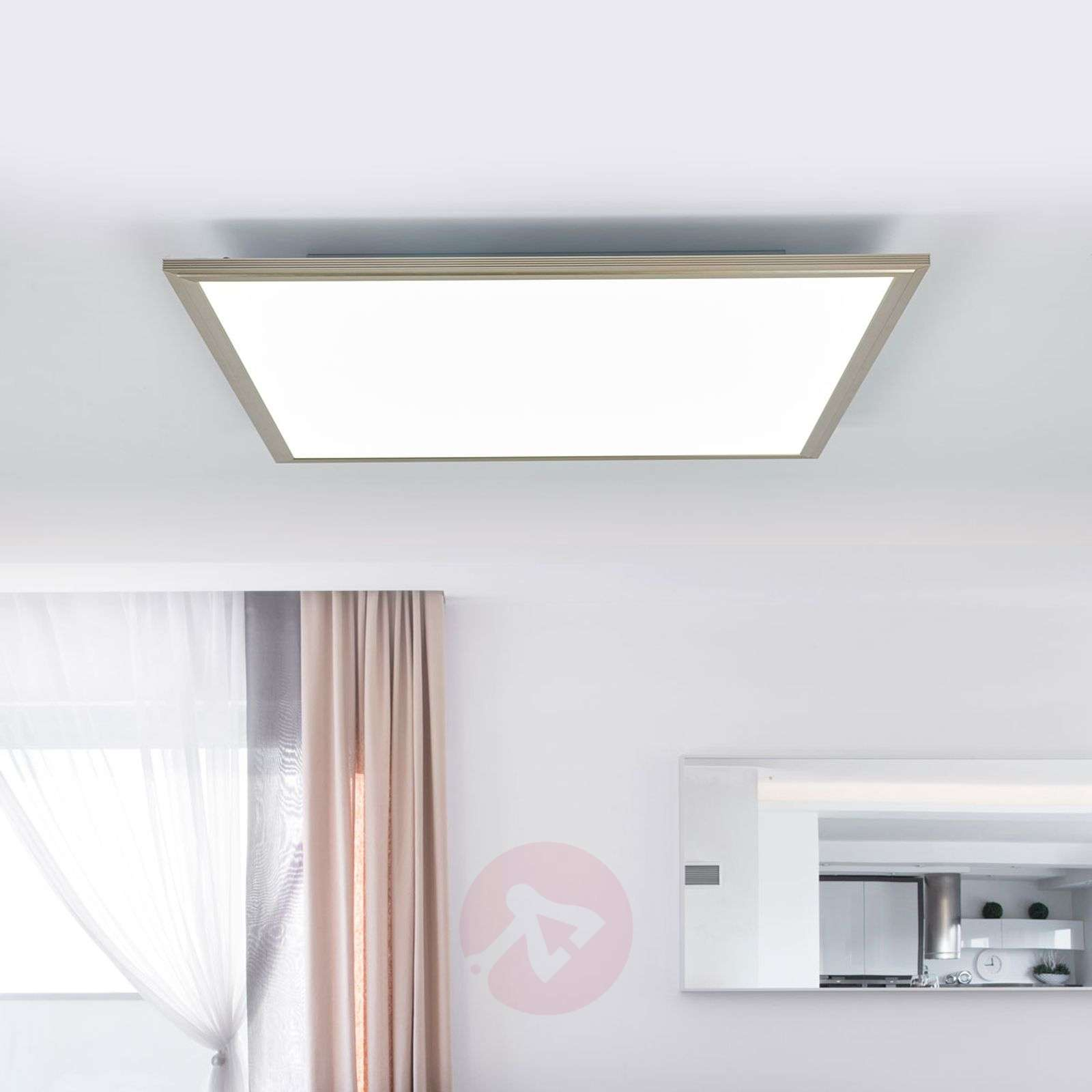 Corinna LED ceiling light 2700 6200K, 60 x 60 cm-1558119-04