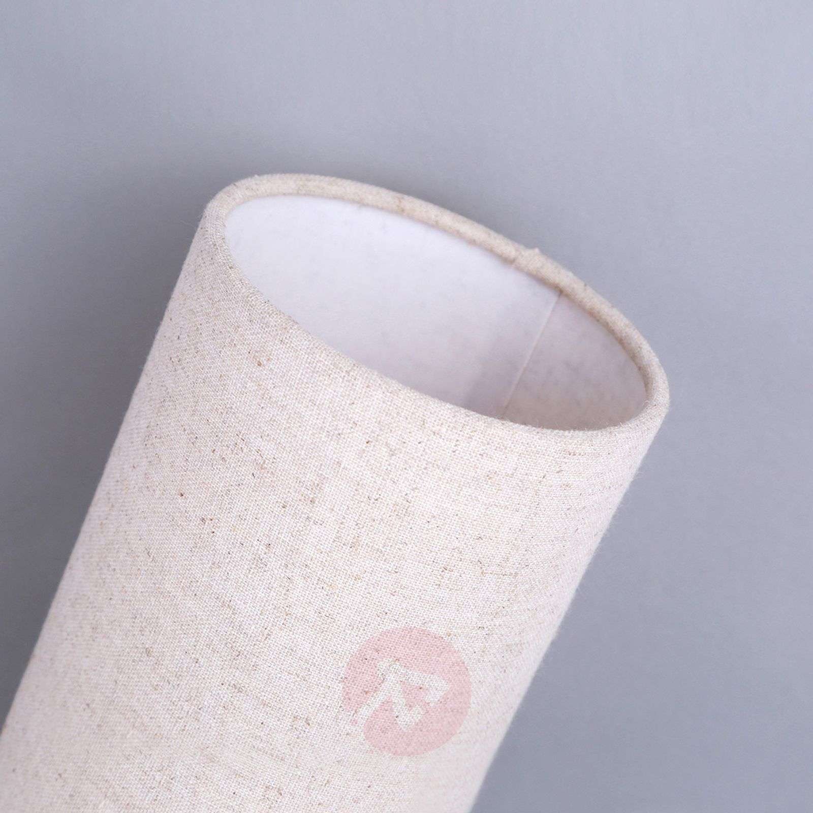 Cream-coloured fabric table lamp Ronja-9620842-04