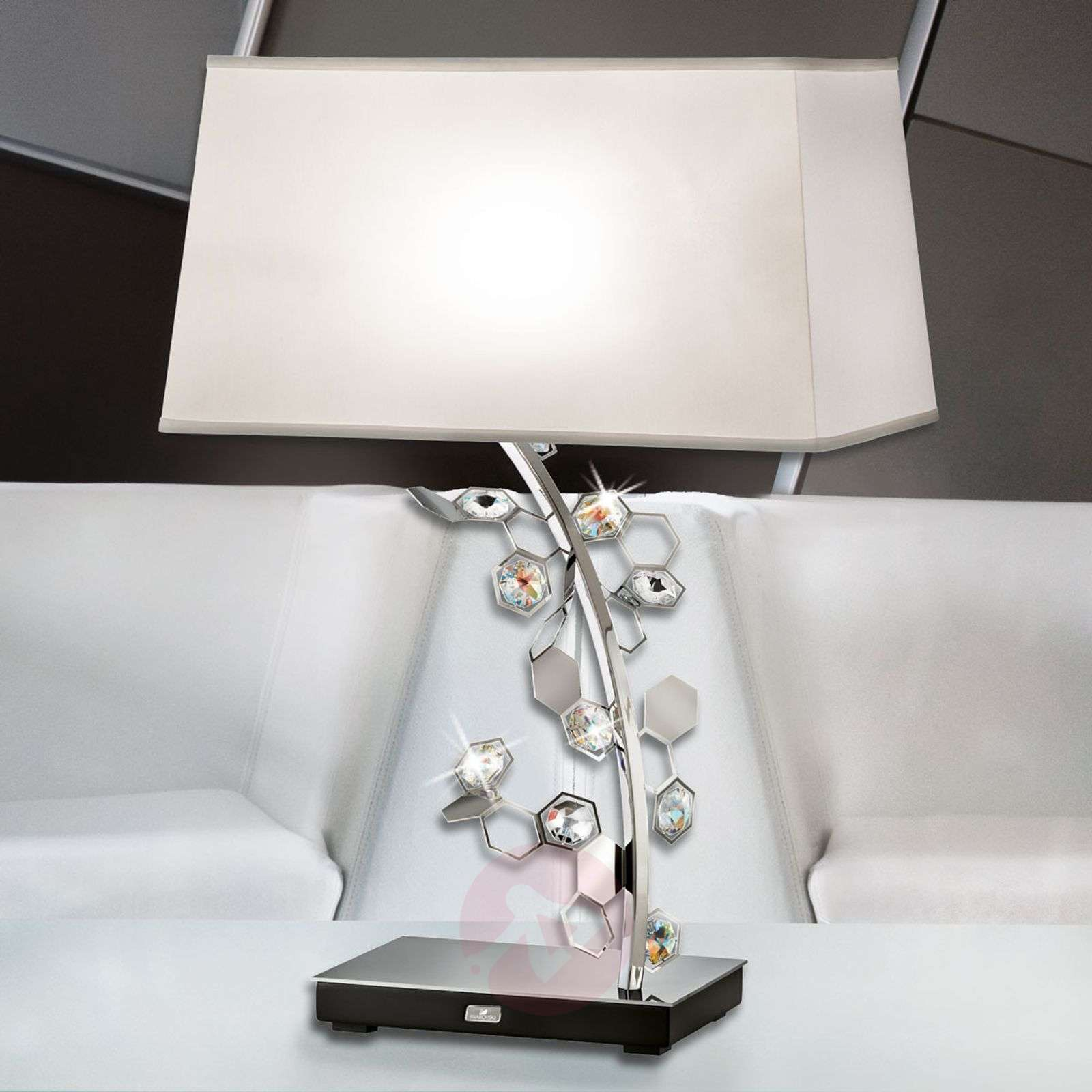 Crystalon table lamp with Swarovski crystals-8578025-07