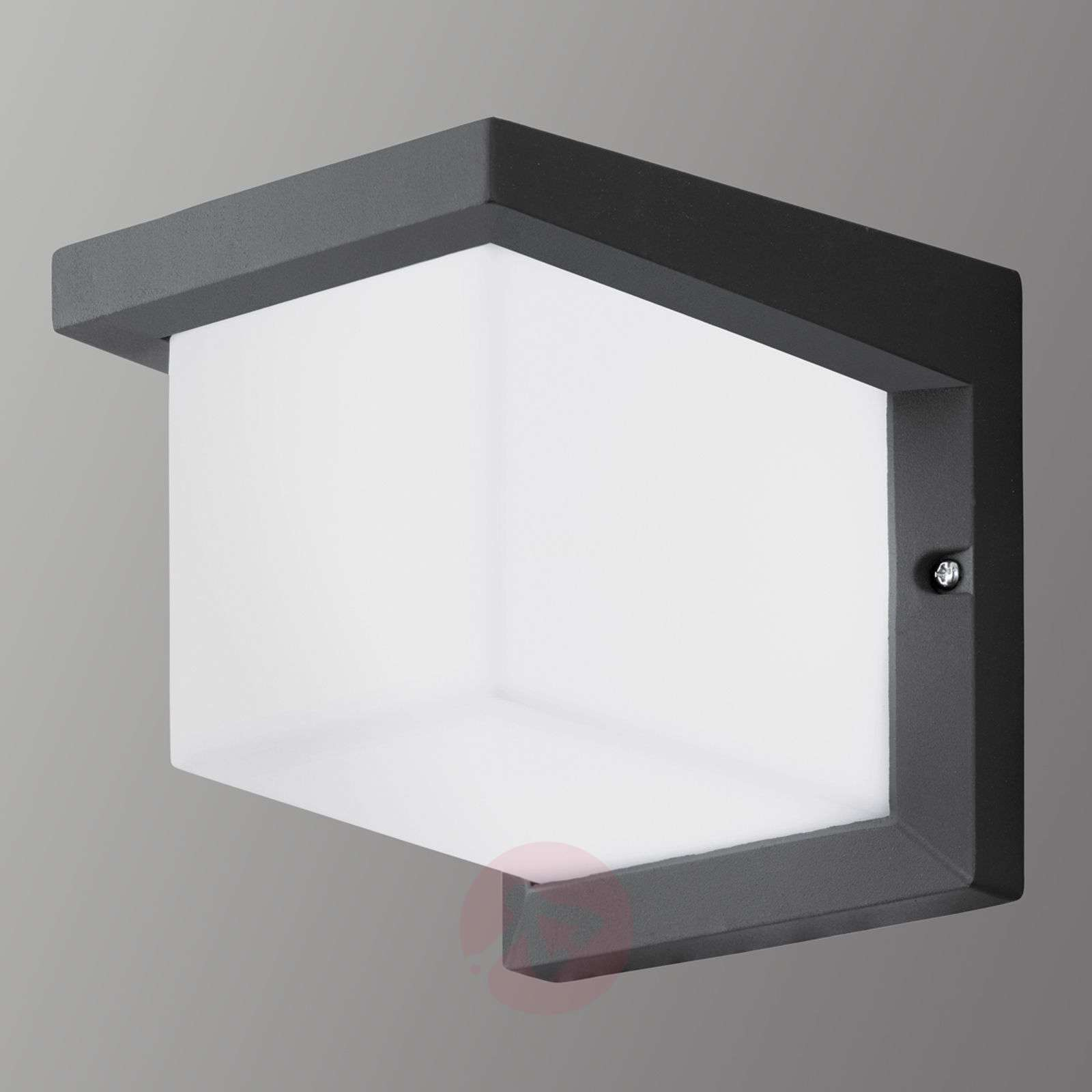 Cube shaped desella led outdoor wall light lights cube shaped desella led outdoor wall light 3000514 01 aloadofball Image collections