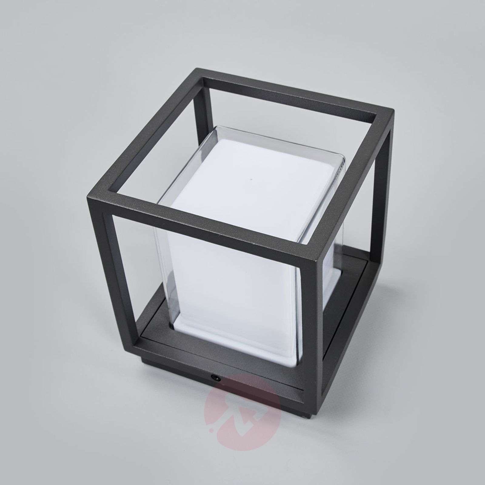 Cube-shaped LED outdoor wall lamp Laurens-9647082-01