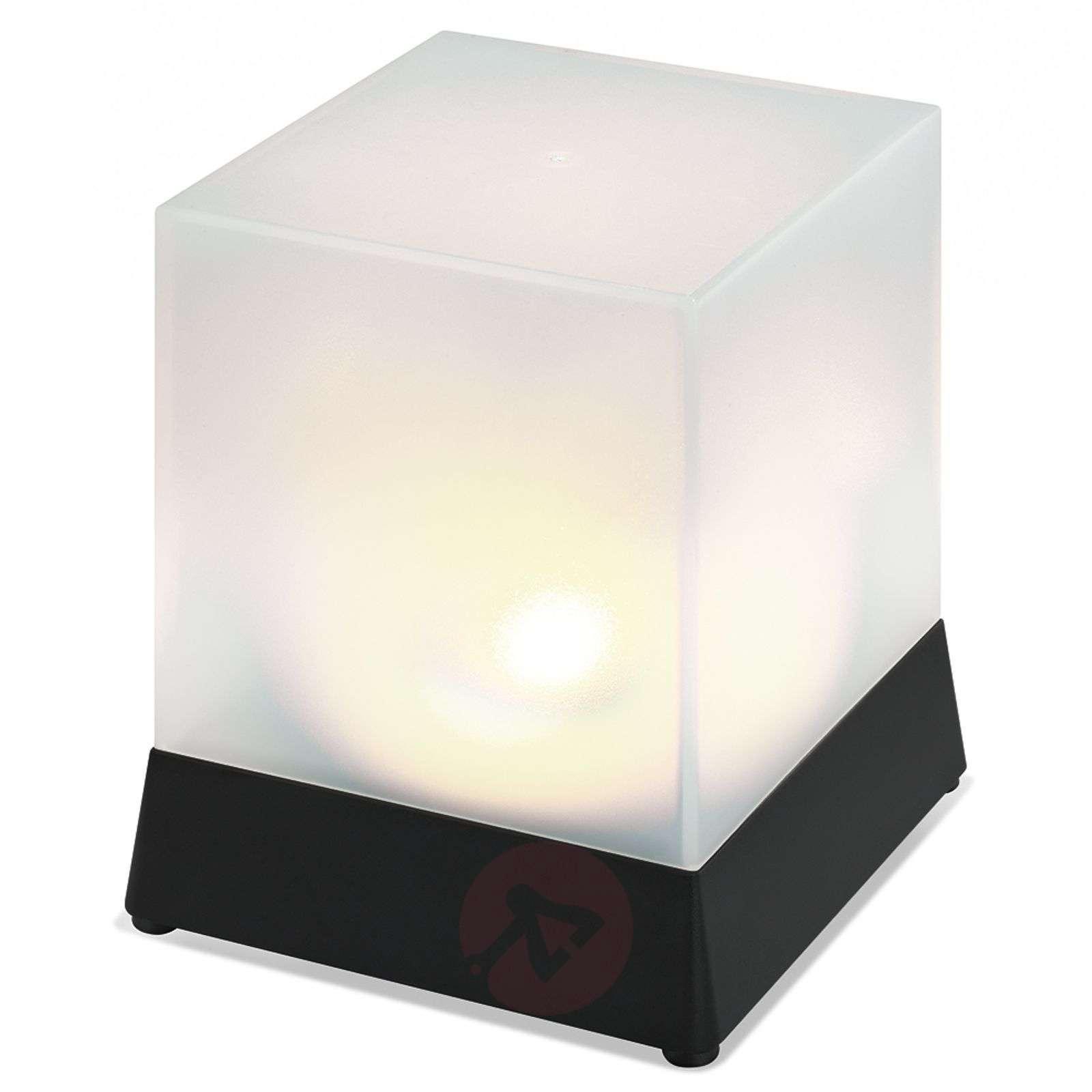 ... Cube Shaped LED Solar Table Lamp Cube 3012236 05 ...