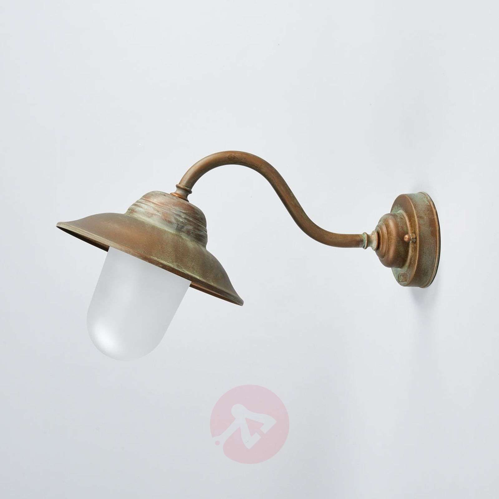 Curved outdoor wall light Birga-6515248-01