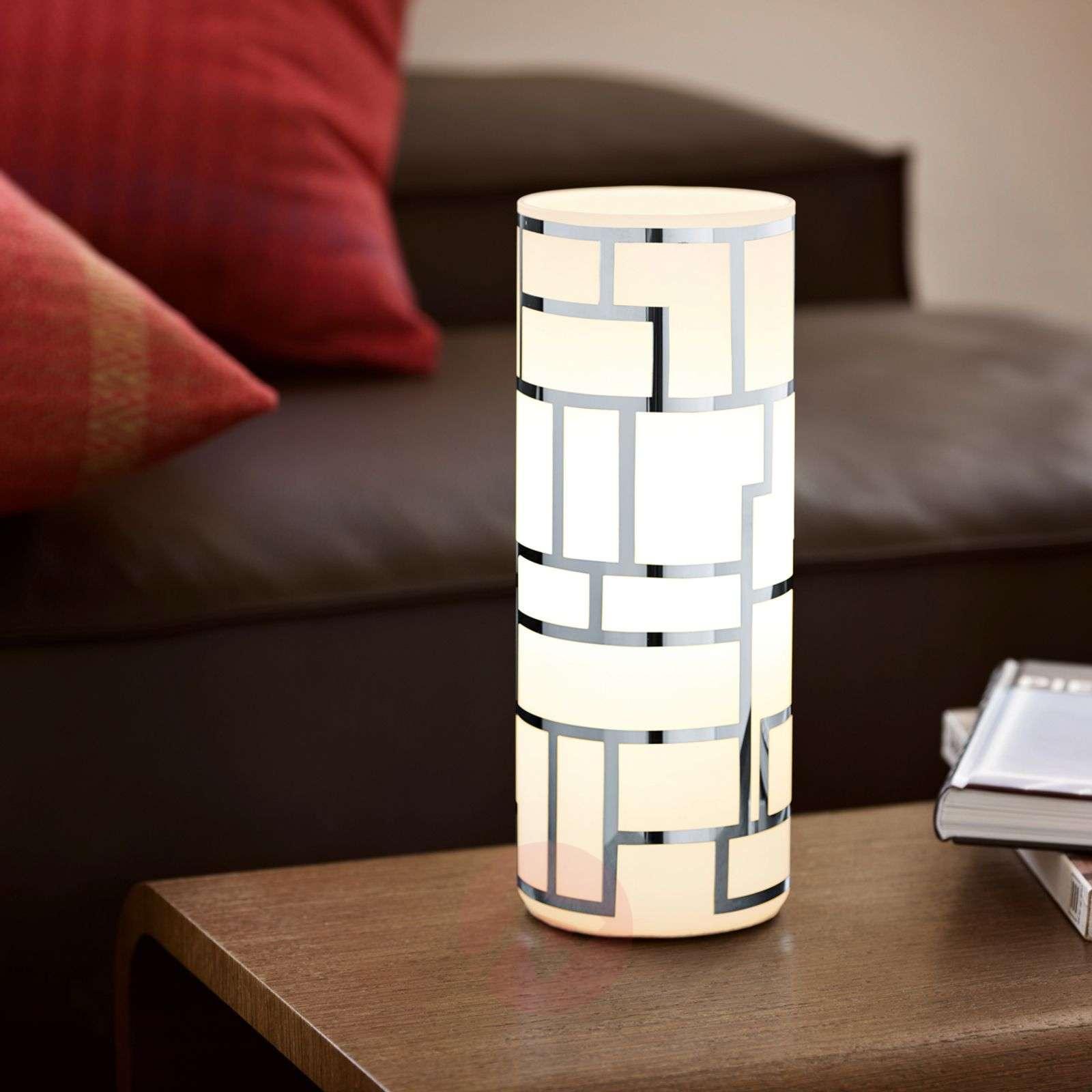 Cylindrical Bayman table lamp-3031649-01