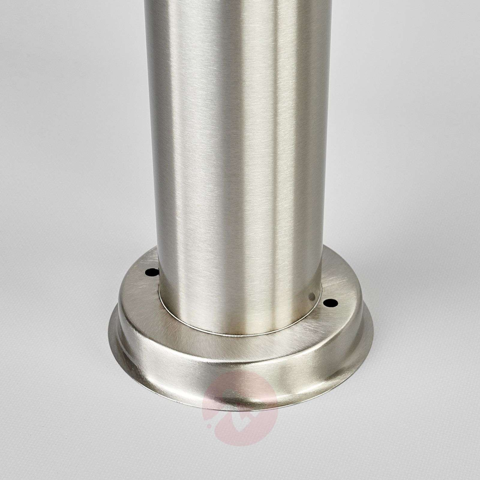 Cylindrical path lamp Kristof, stainless steel-9972057-01