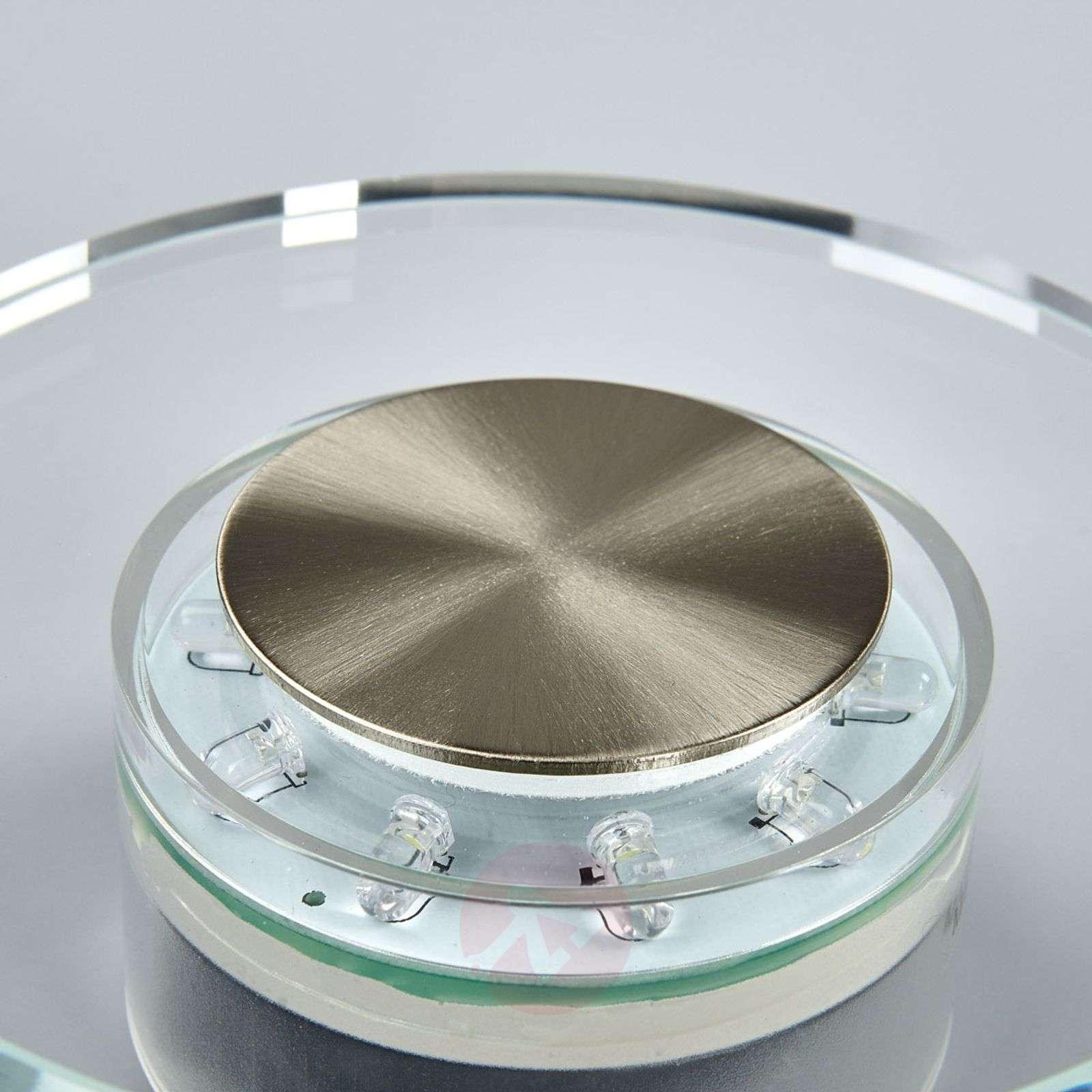 DANA Effective LED Exterior Wall Lamp, Round-4014242-01