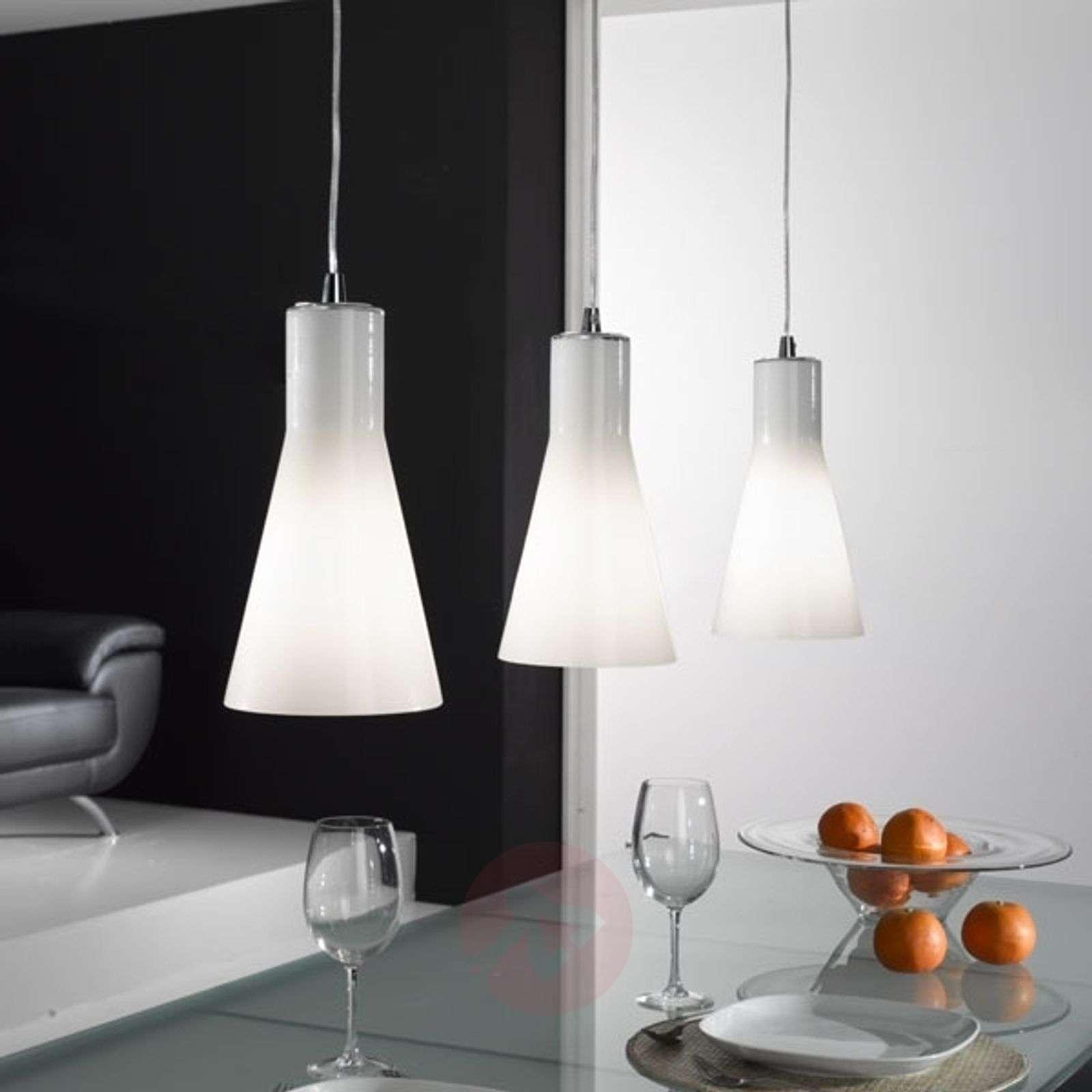 Dana Gl Hanging Light Three Bulb