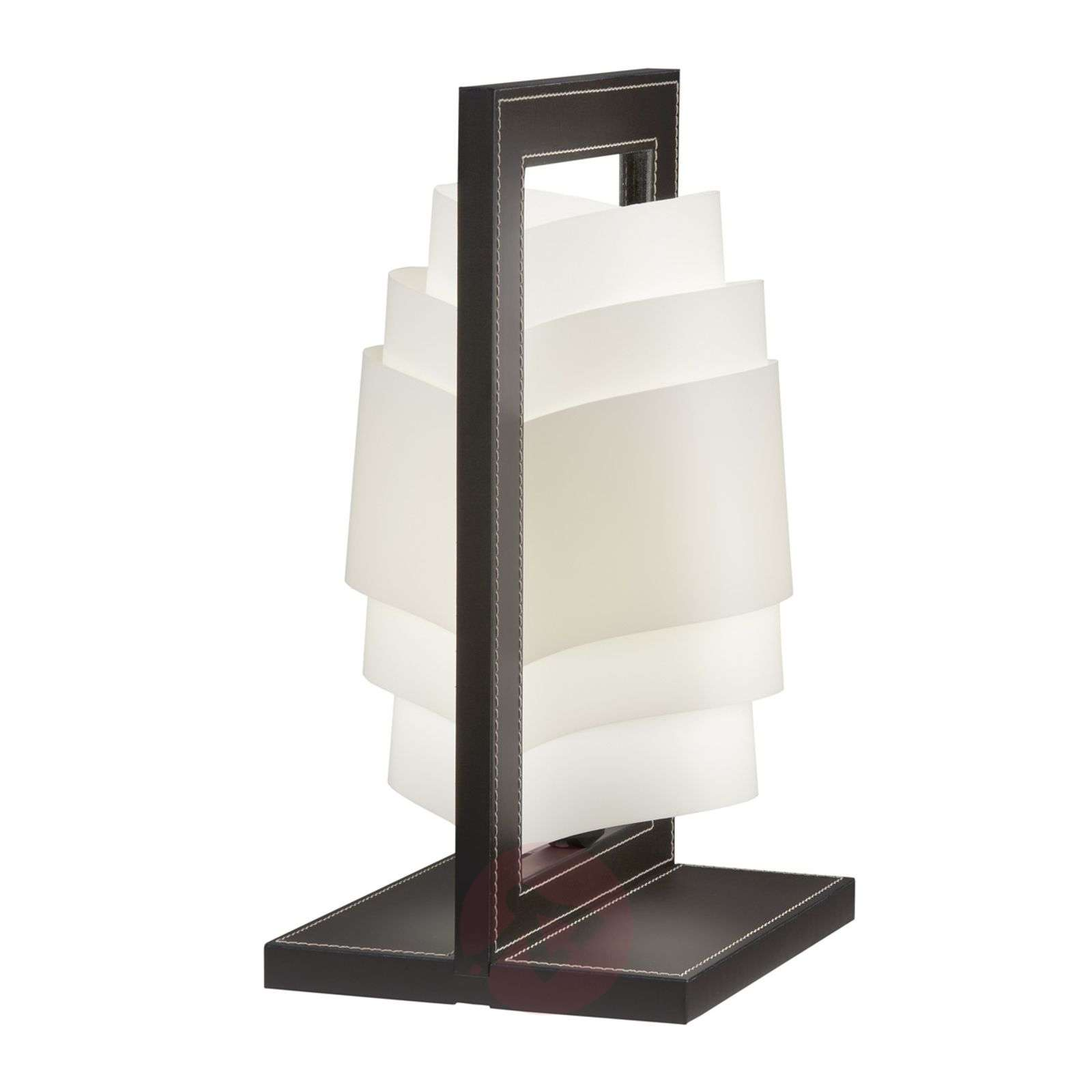 Dark brown table lamp Vincente-1056006-01