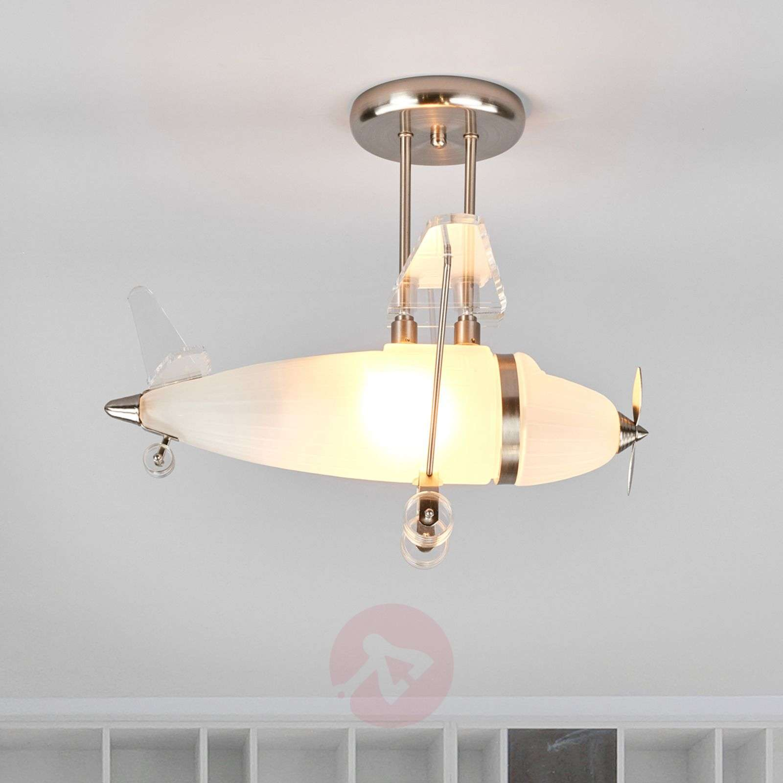 Decorative ceiling light Flya, aeroplane form-8570182-03