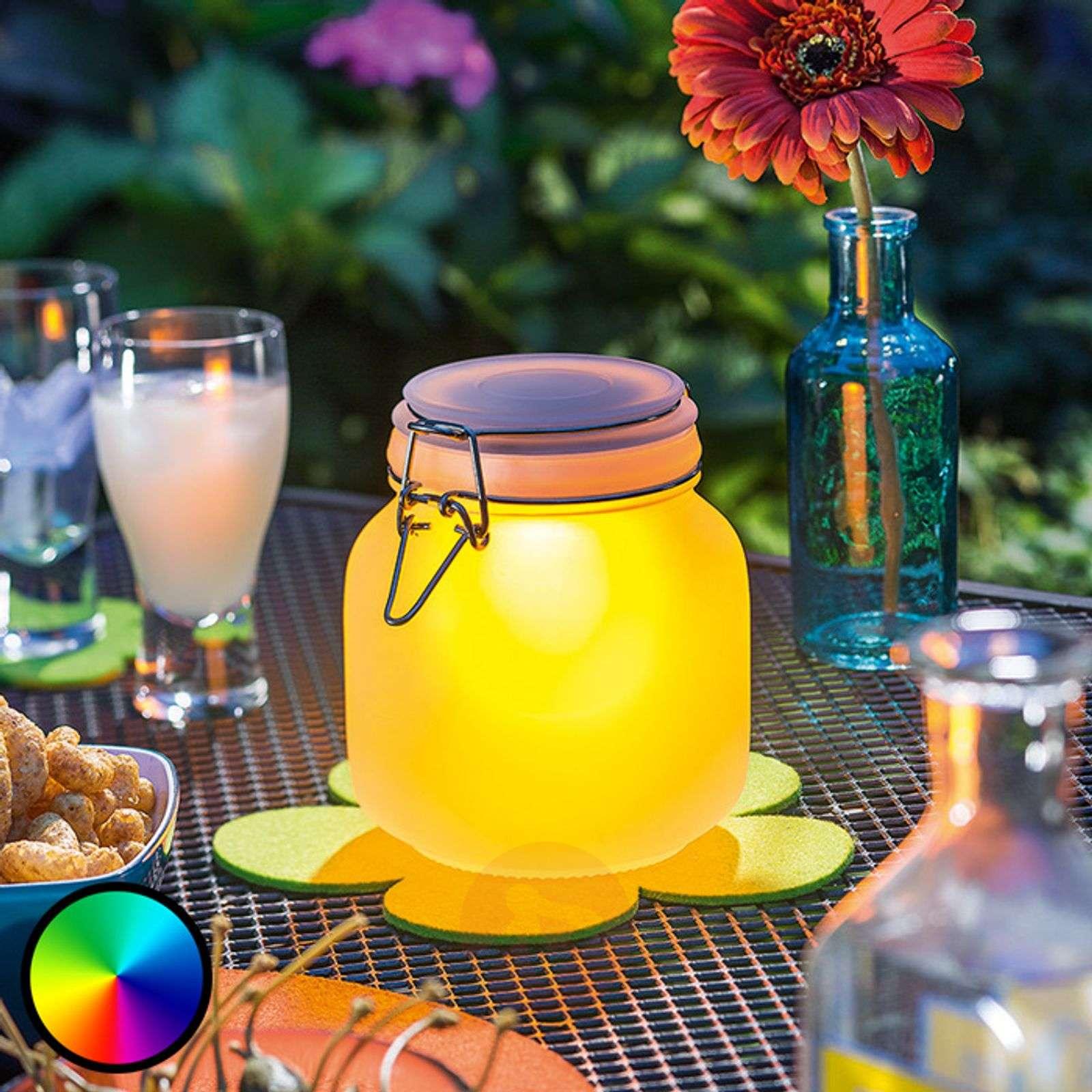 Decorative LED glass Satin Glass, solar powered-3012515-01