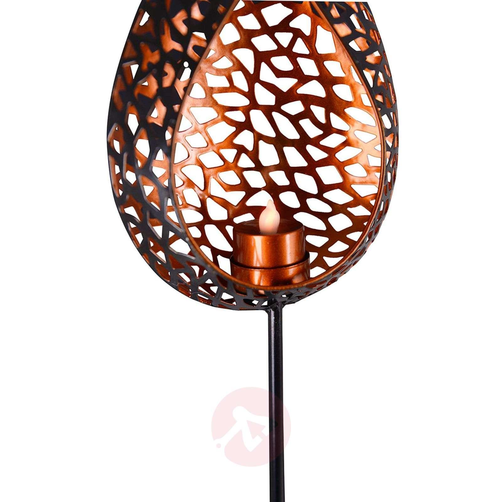 Decorative LED solar ground spike light Shiva-7000943-01