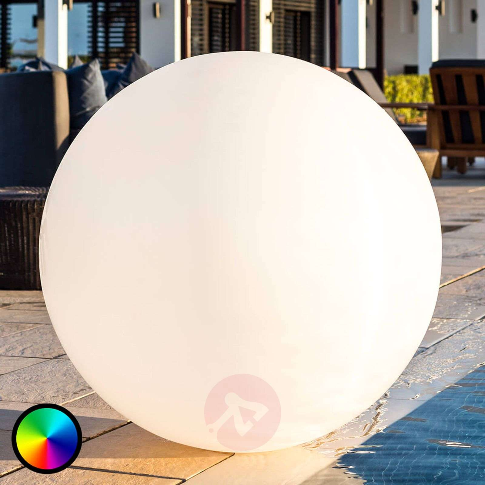 Decorative light Globe L controllable by an app-8590019-01