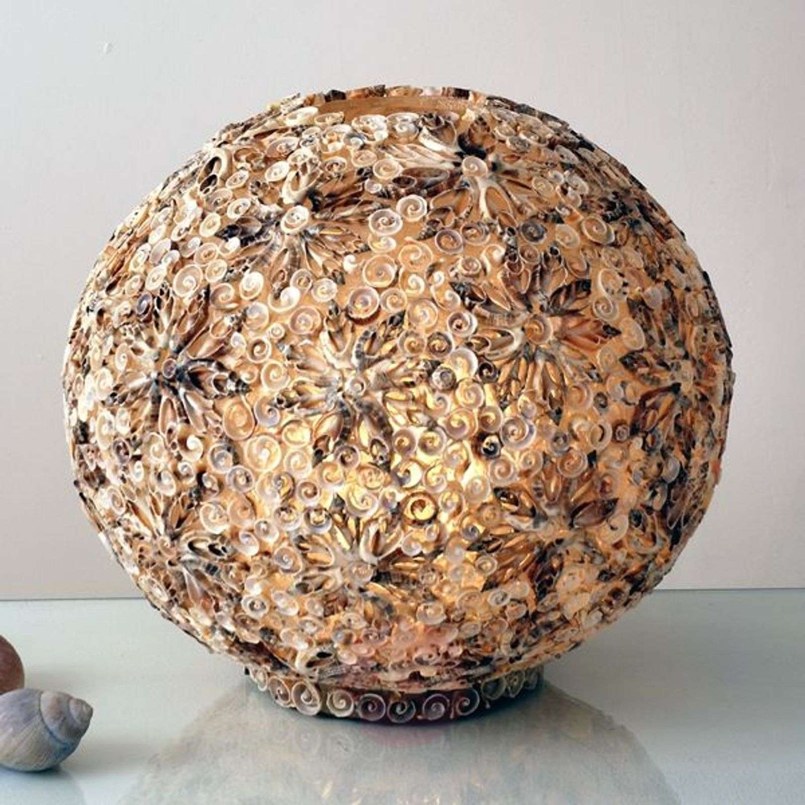 Decorative table lamp MUSCHELBALL-4512185X-01