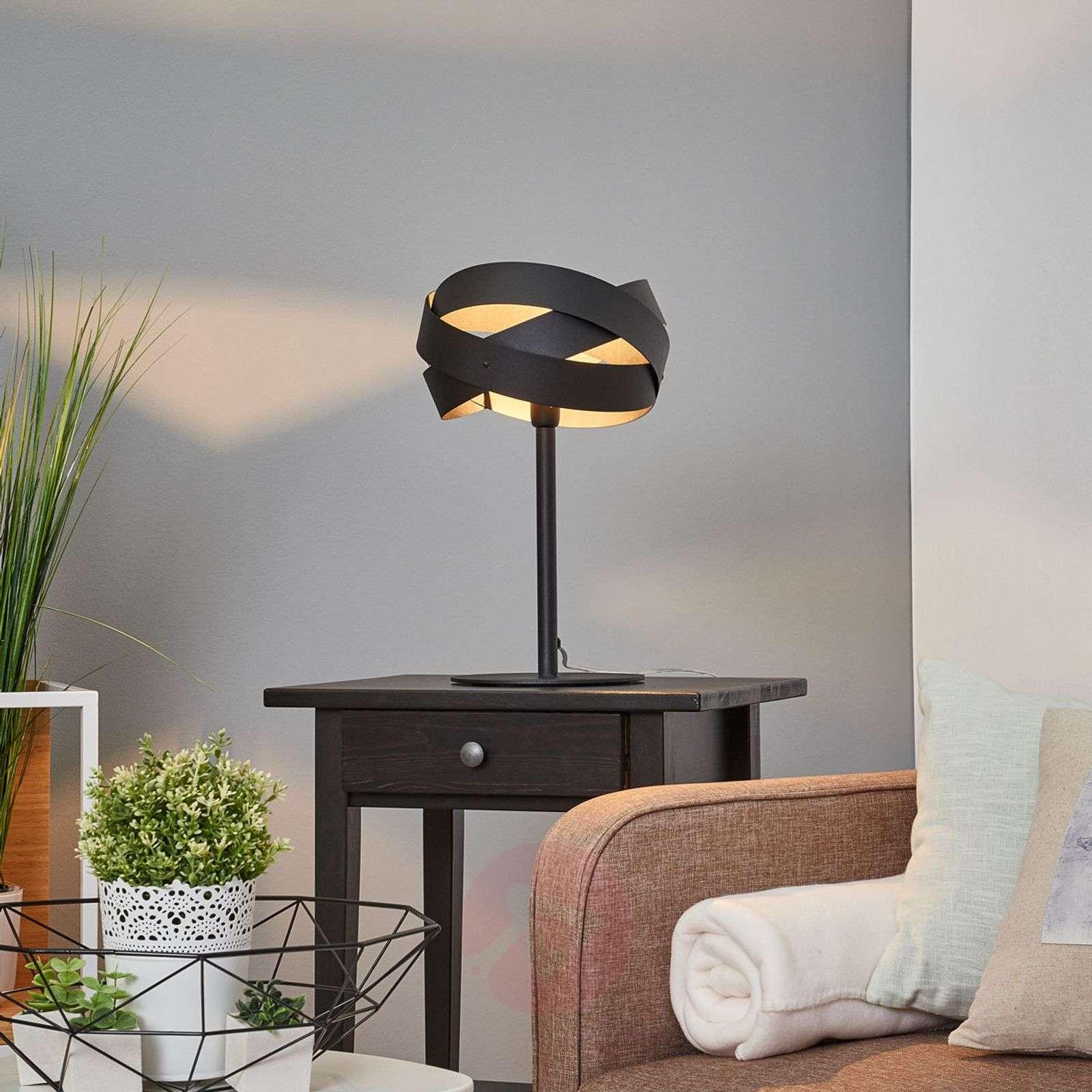 Decorative Tornado table lamp-6089027-01