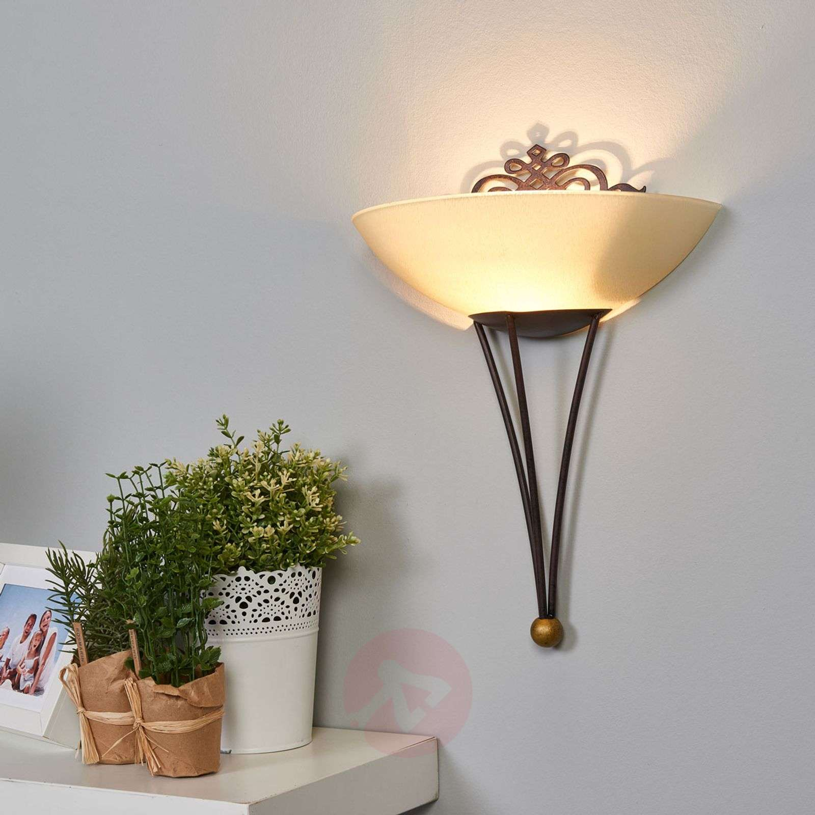 Decorative wall light Master with decoration-3001268-01