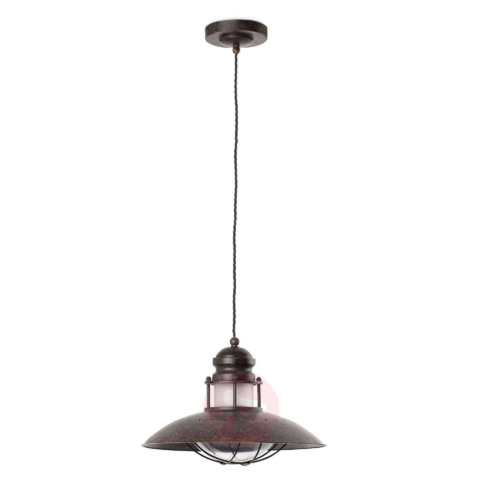 Decorative Winch Pendant Lamp-3507035-01