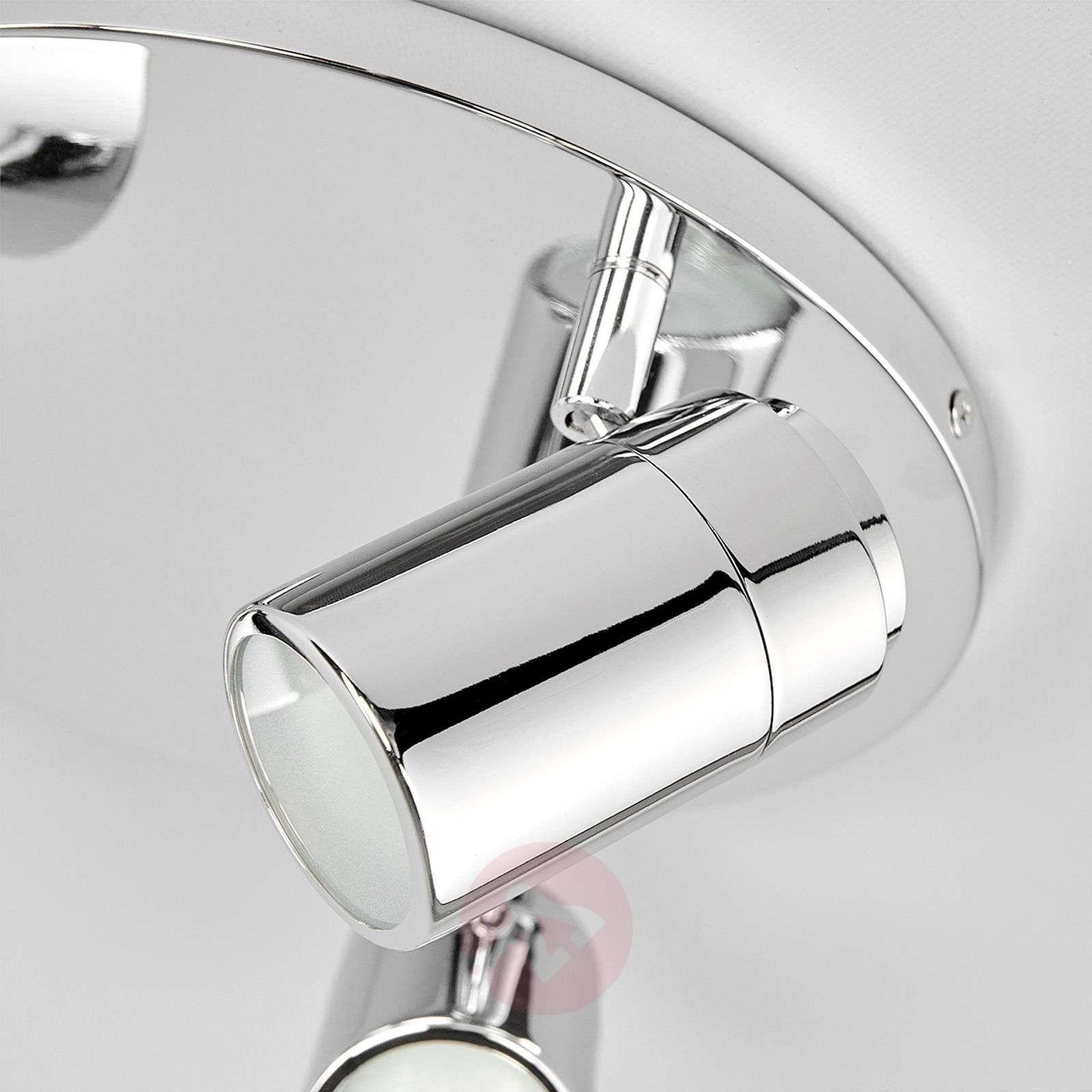 Dejan round ceiling light, glossy chrome-9641038-01