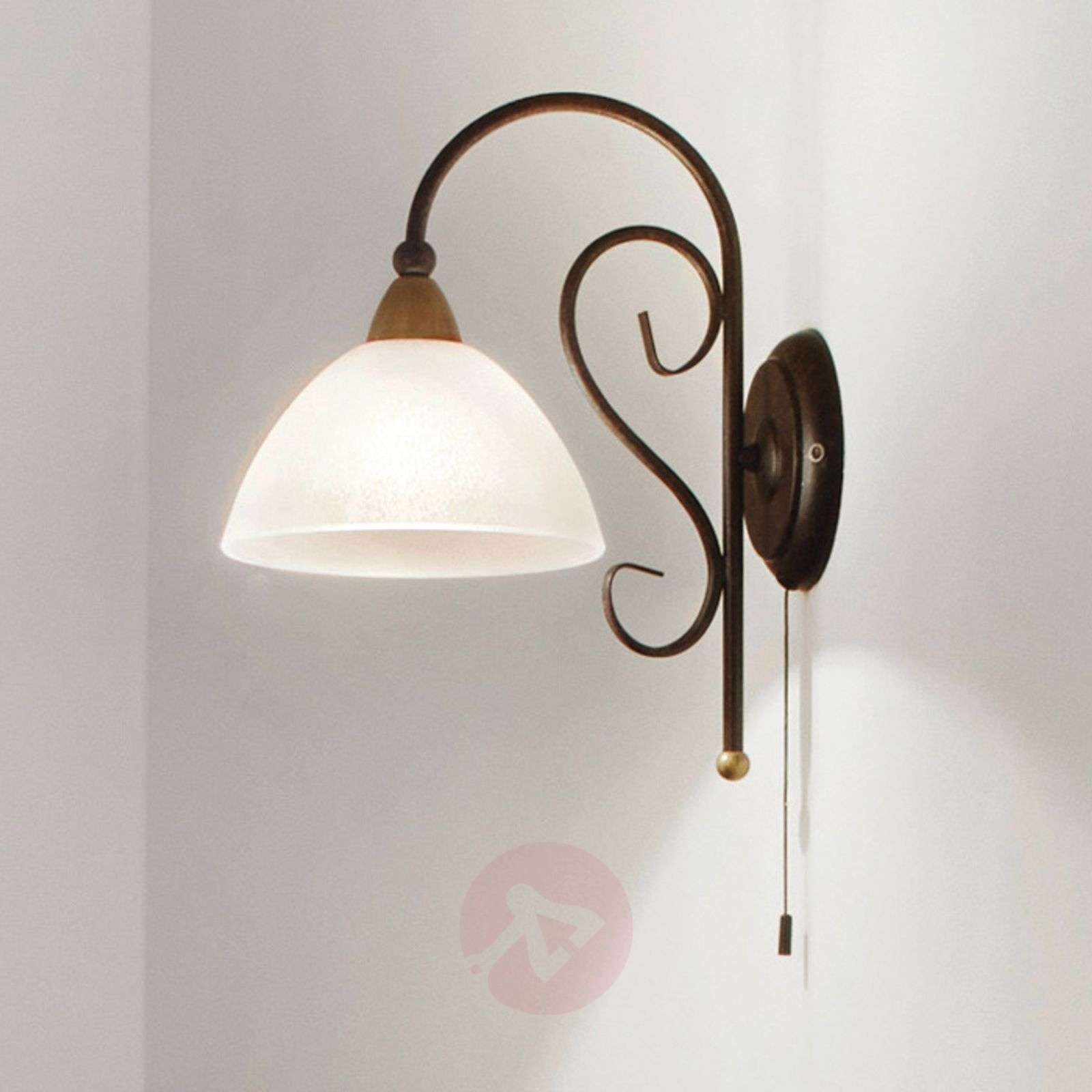 Delicate Wall Light Midec With Pull Switch 3001182 01