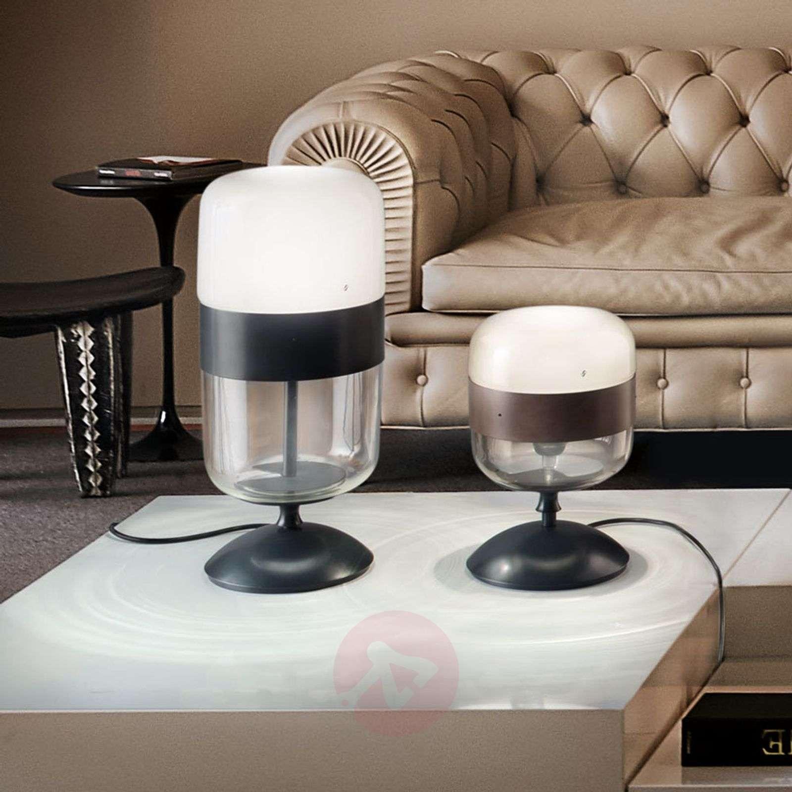 Designer glass table lamp, 29 cm-9508141-01