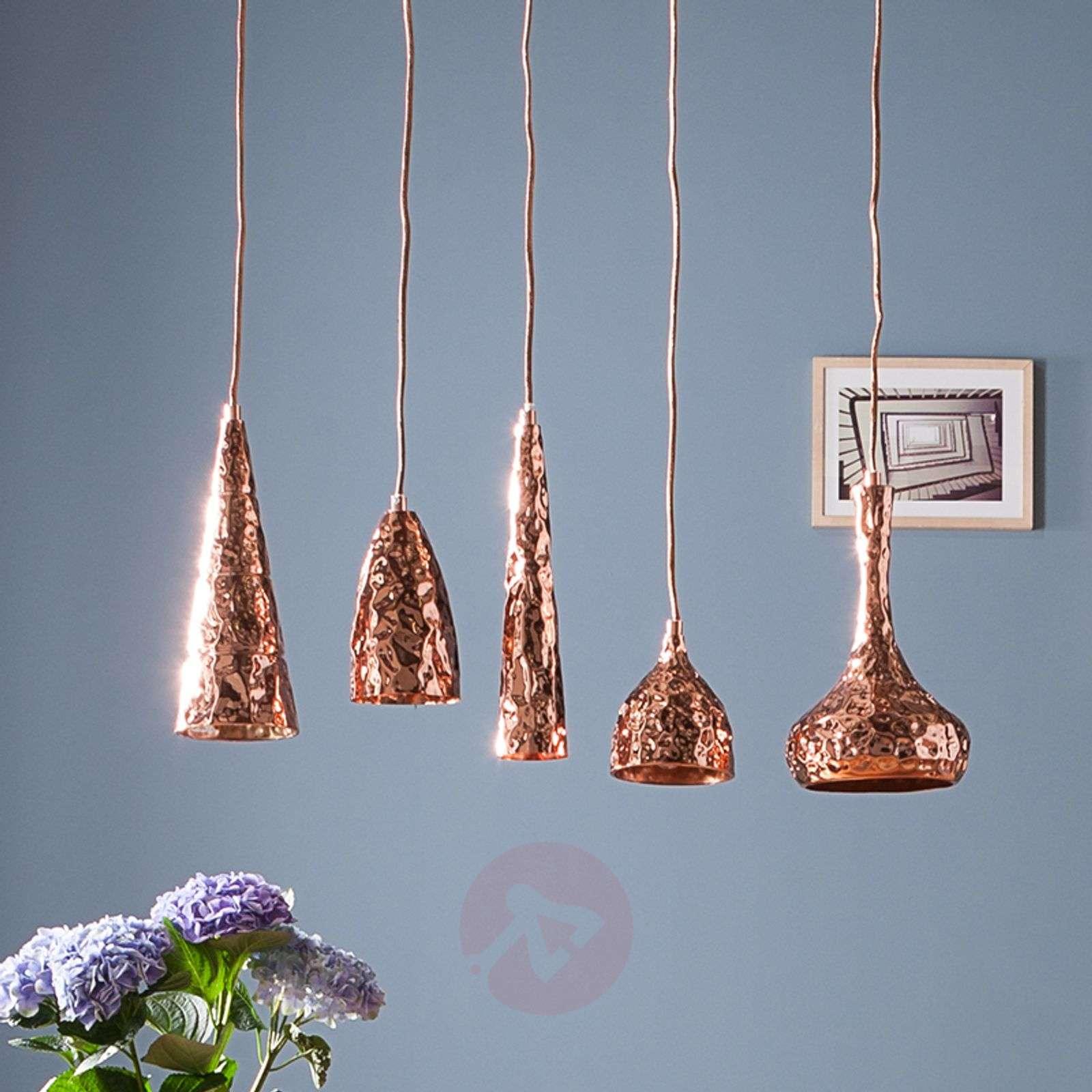 Designer hanging light rumble copper lights designer hanging light rumble copper 5517340 01 aloadofball Images
