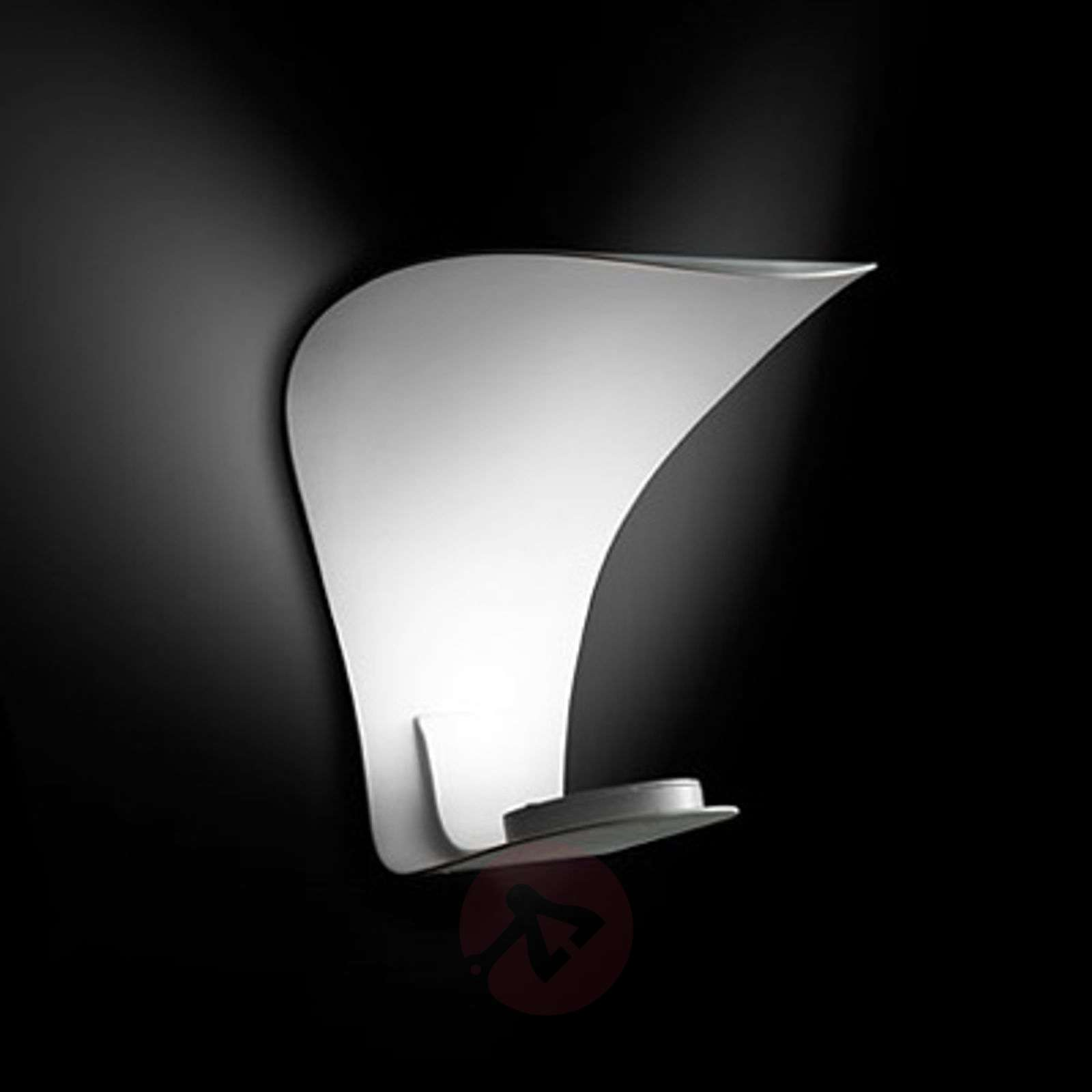 Designer LED wall light Voilà with indirect light-7265085-01