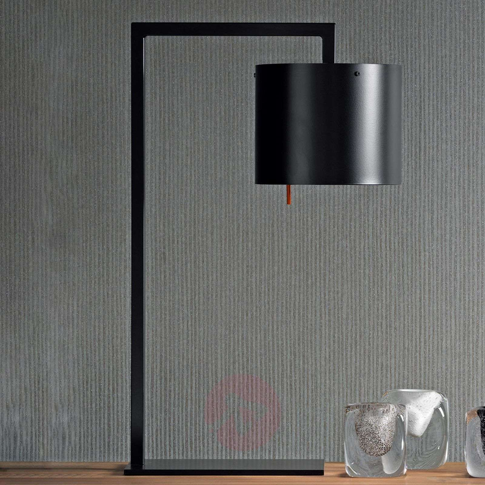 Designer table lamp Afra, black and gold-1071066-01