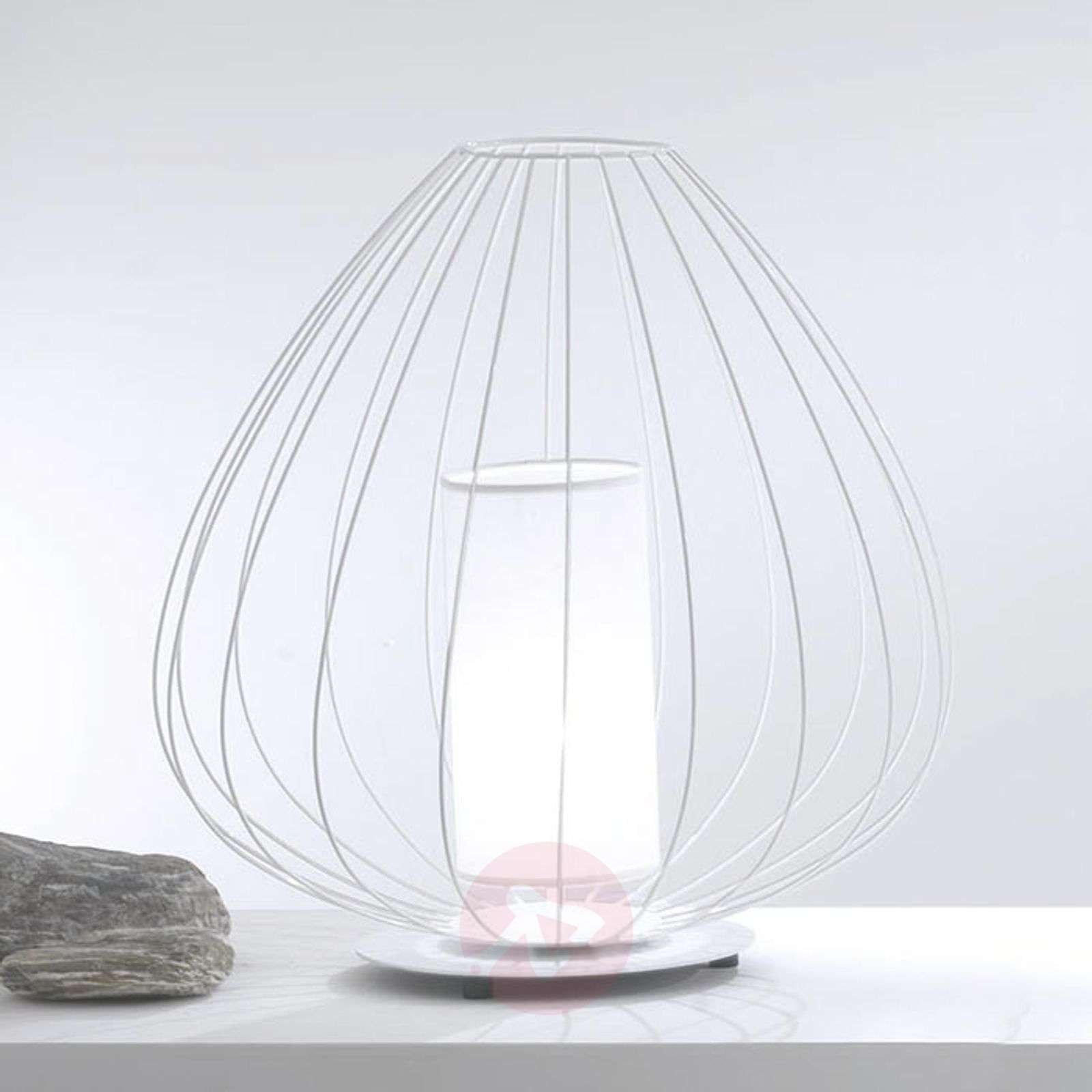 Designer table lamp Cell in a cage shape-5542030X-01