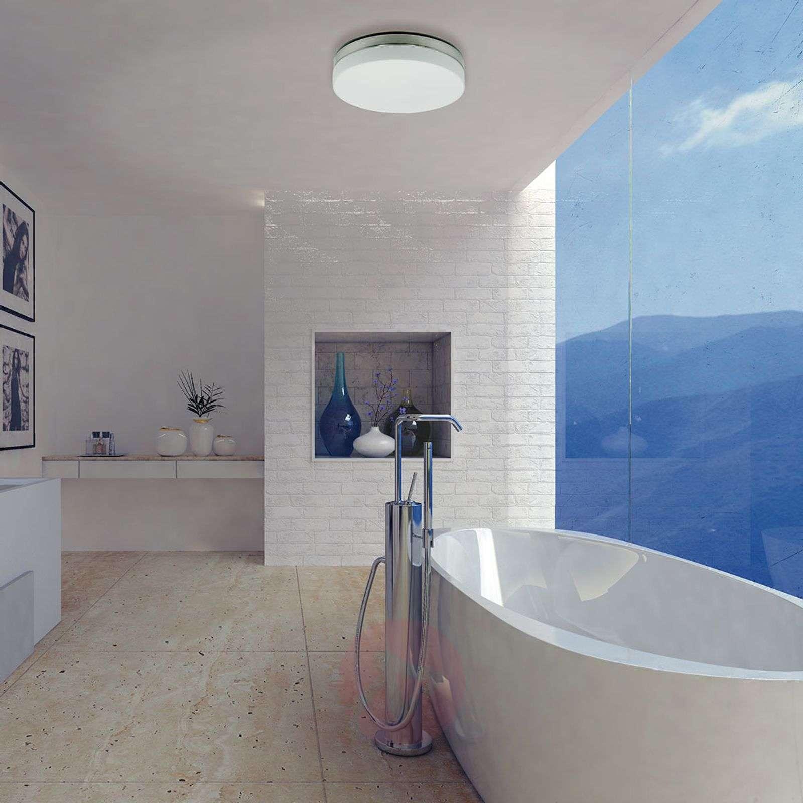 Dimmable LED bathroom ceiling light Babylon 30 cm-8509762-01