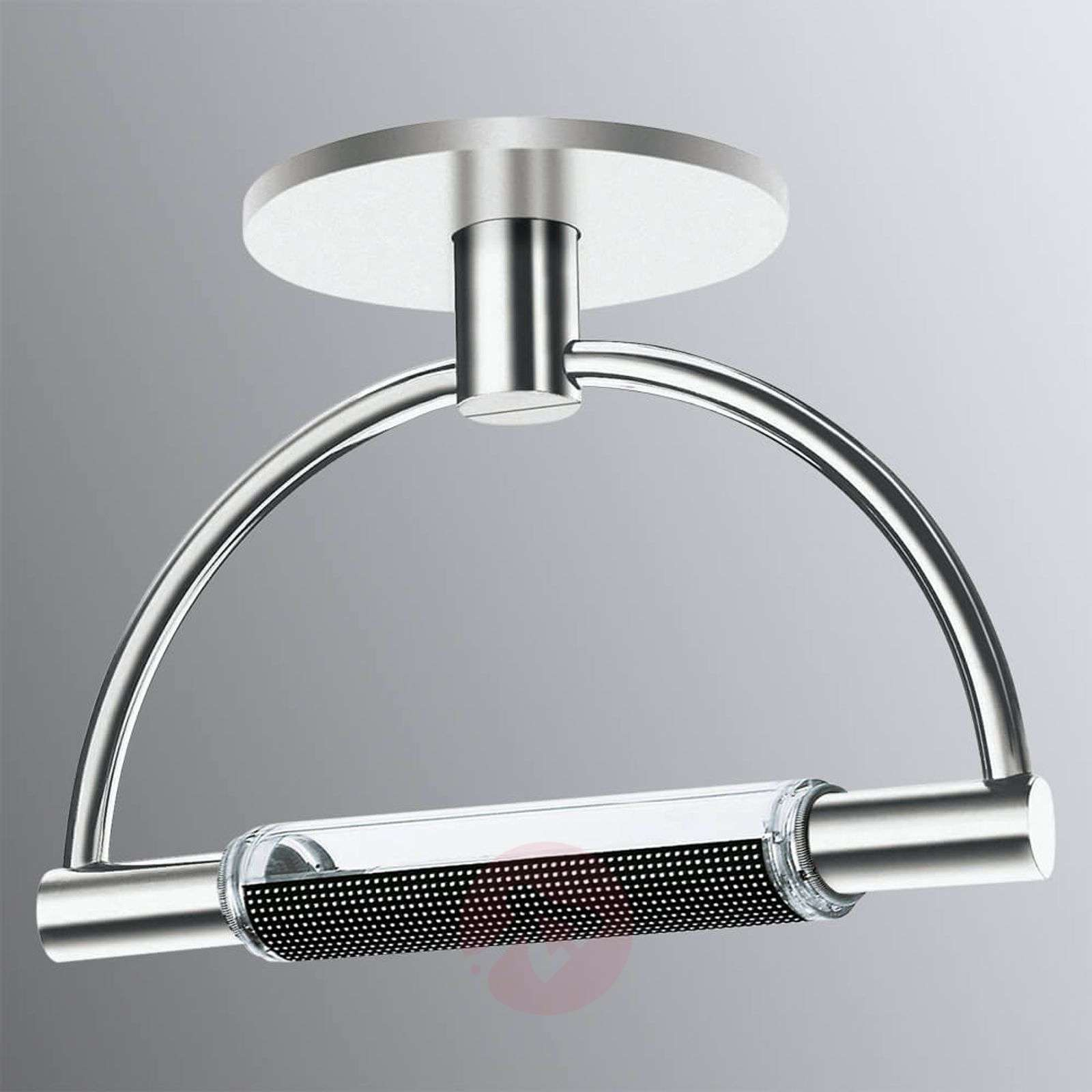 Dimmable led ceiling light gradi chrome finish lights dimmable led ceiling light gradi chrome finish 2028011 01 aloadofball Images