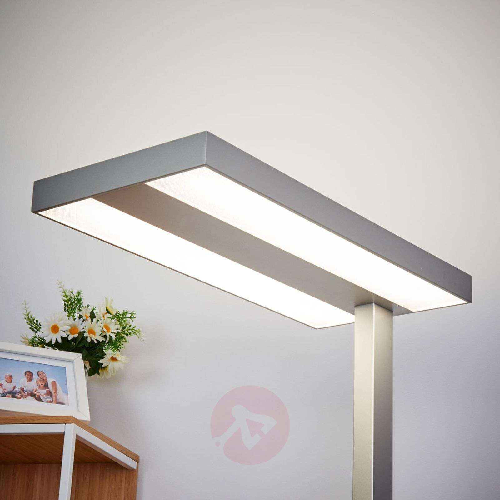 Delicieux ... Dimmable LED Office Floor Lamp Logan 4,000 K 9968003 02 ...