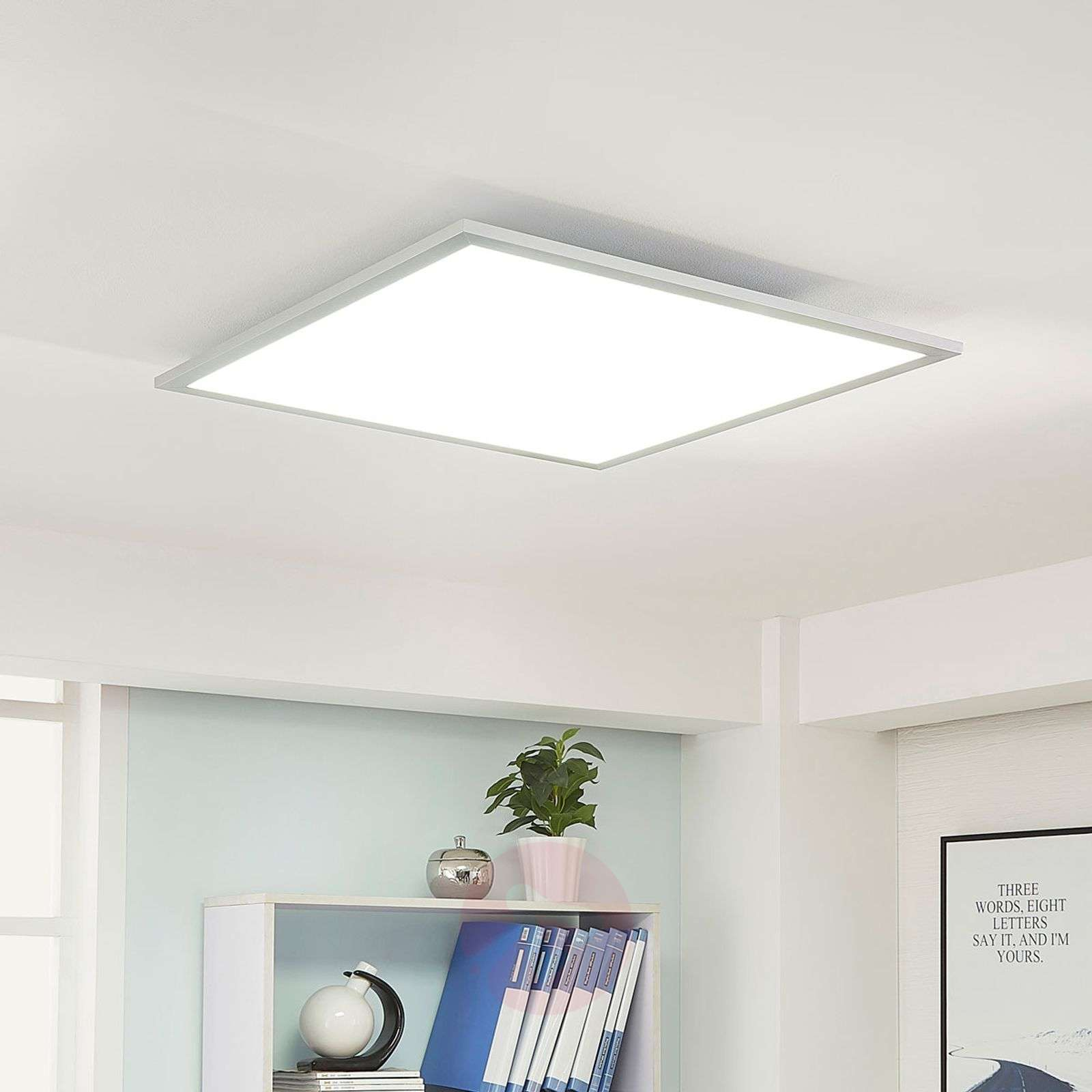 Dimmable LED panel Lysander, warm white daylight-9621551-01
