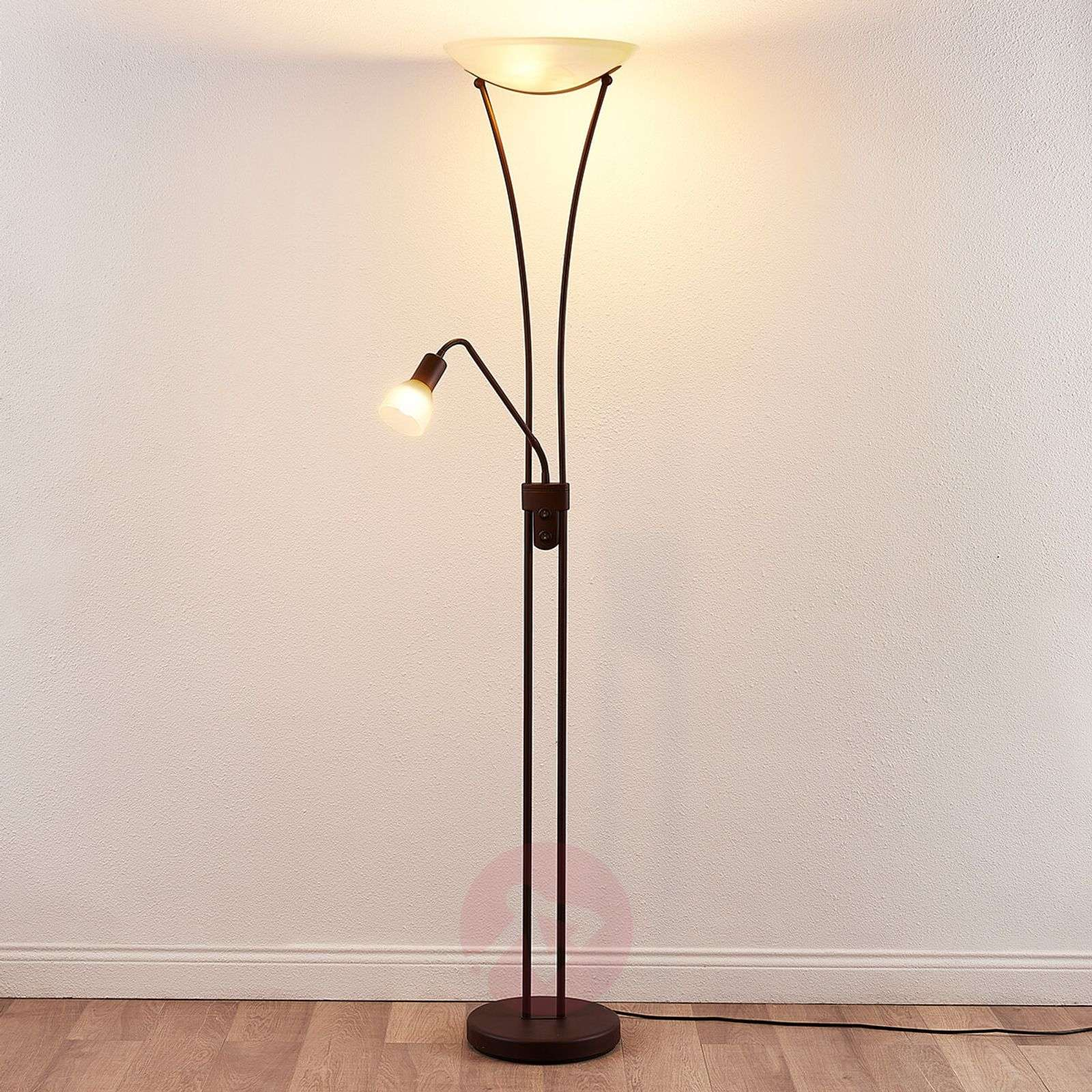 Dimmable LED uplighter Felicia in a rusty look-9621271-02