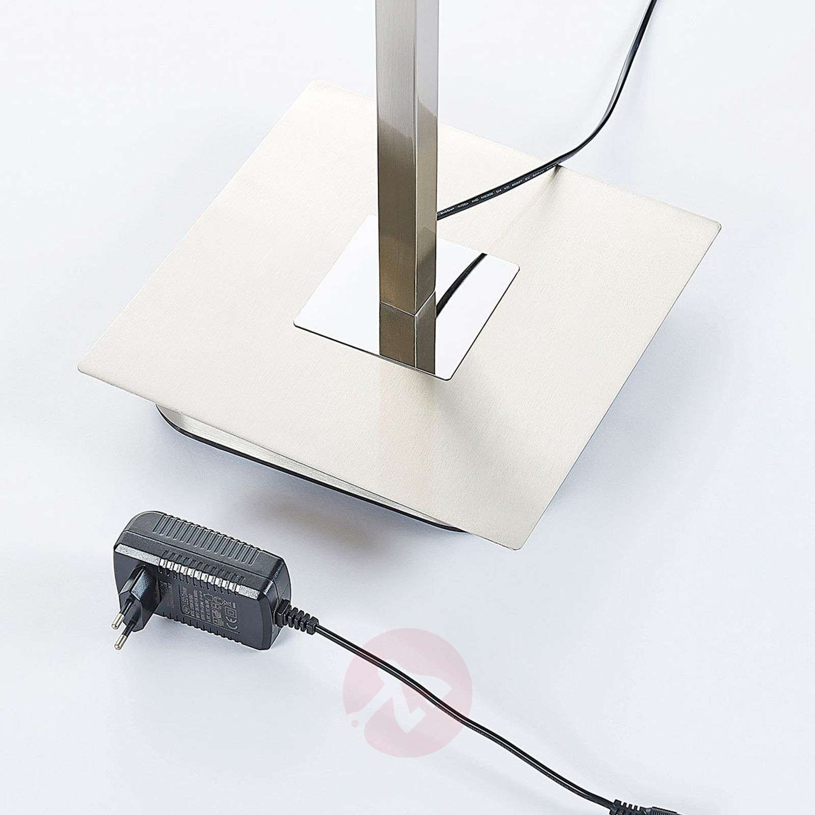Dimmable LED uplighter Raon with reading lamp-9621656-02