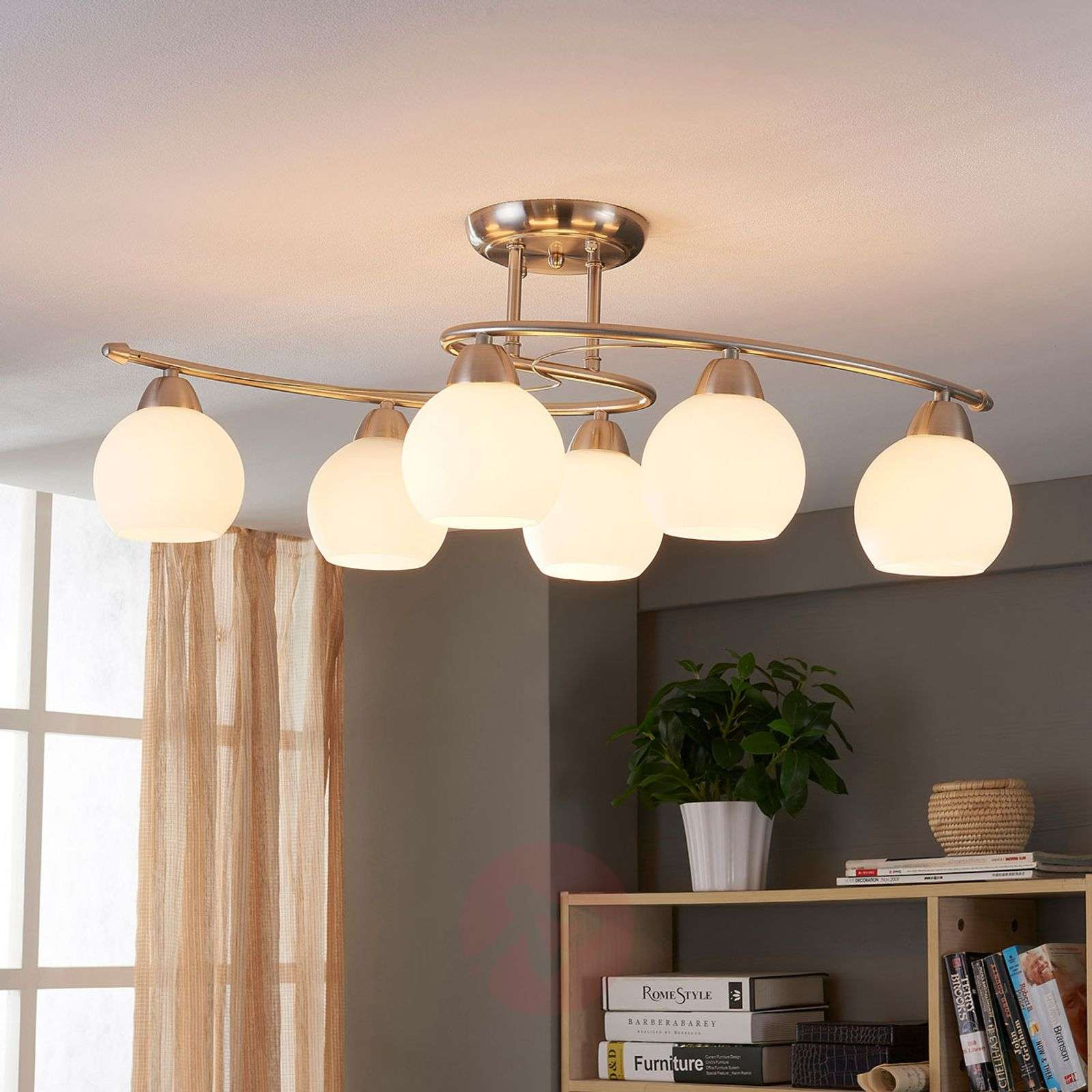 Dining room ceiling light svean 6 bulbs