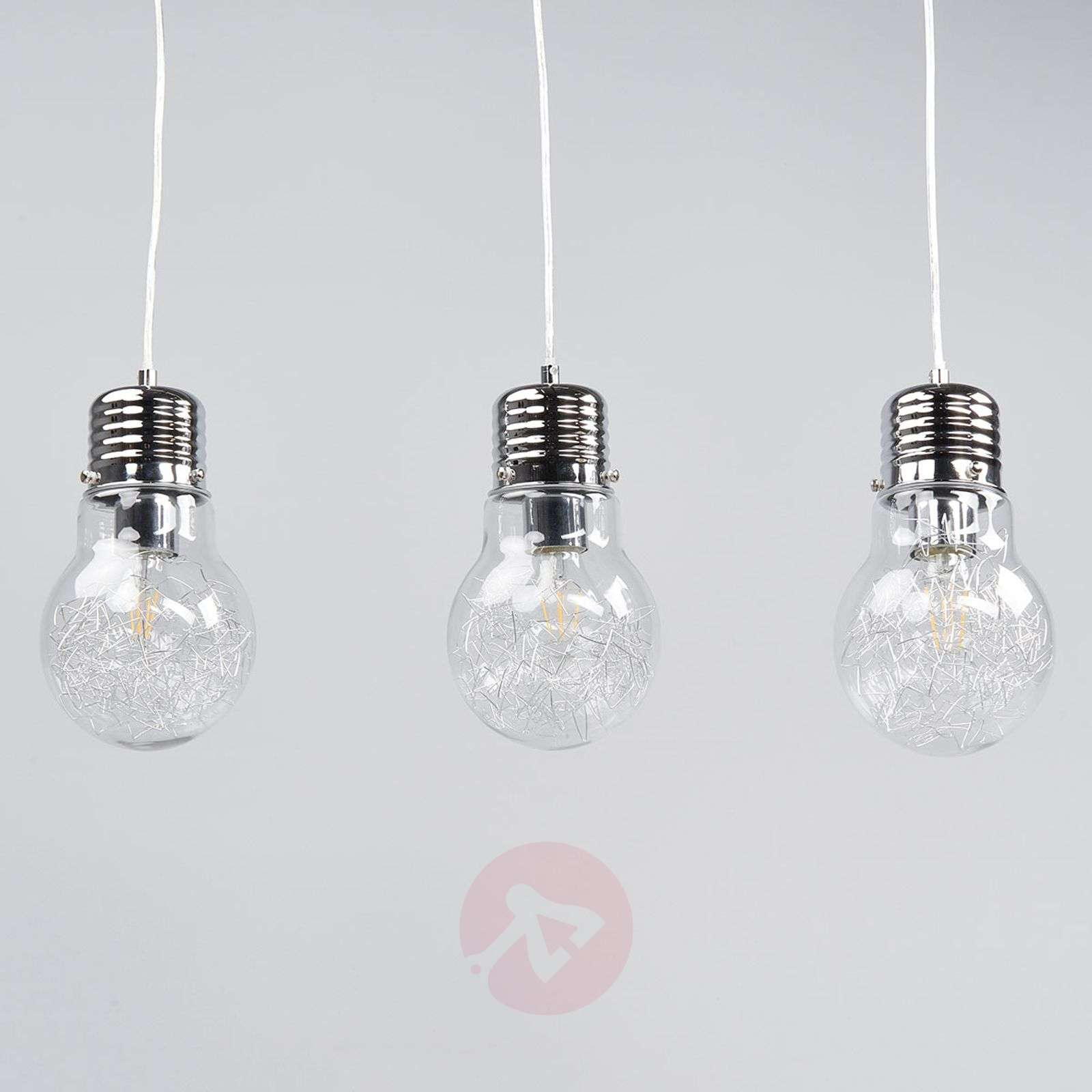 shades products spool of glass pendant bulb light bell closed
