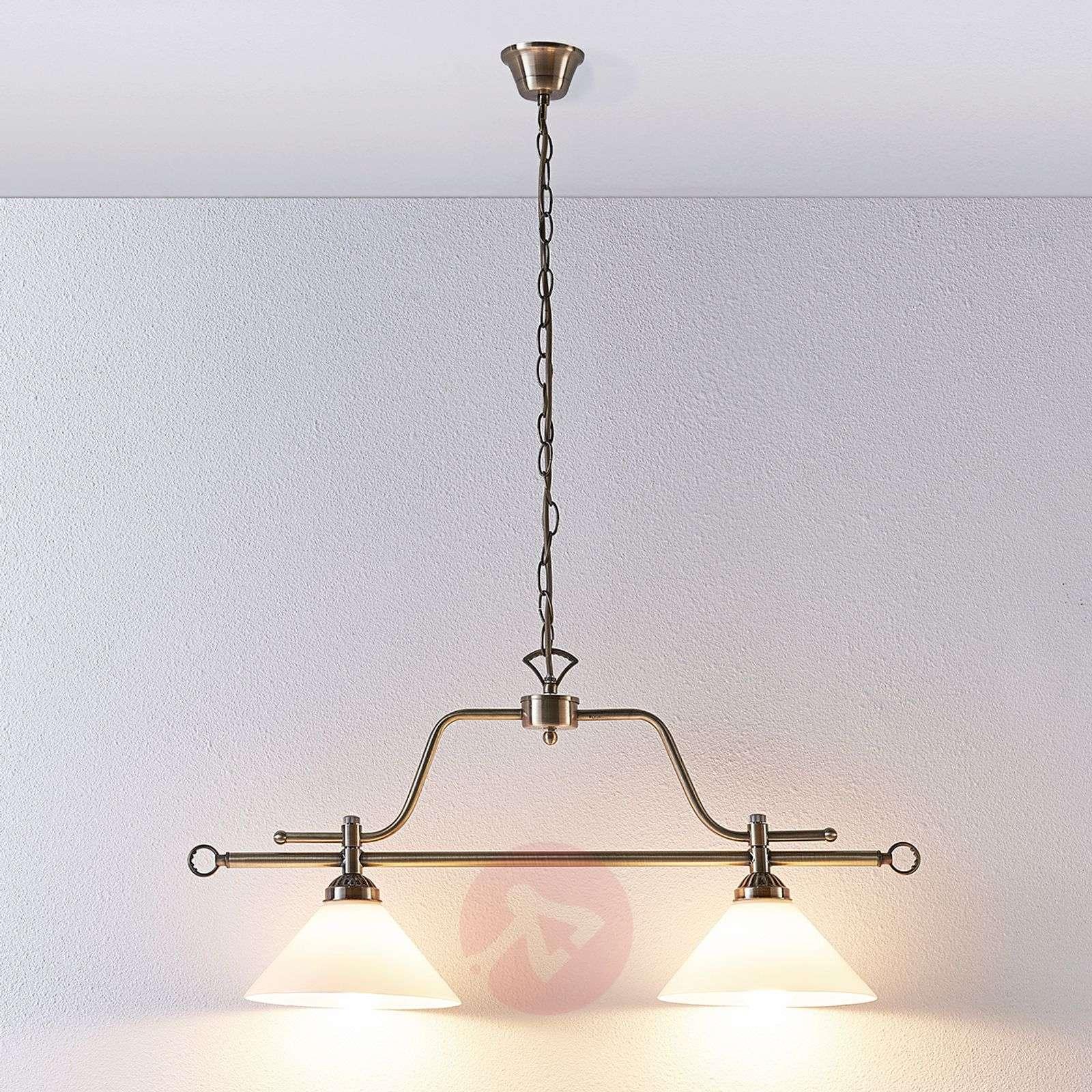 Dining table hanging lamp Otis, 2-bulb-9621032-03