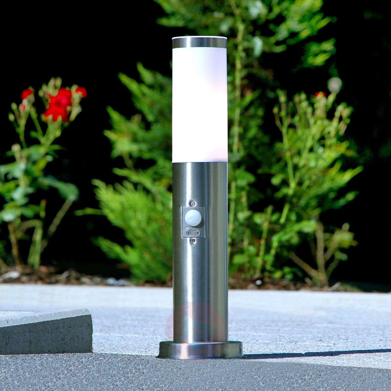 Discreet motion detector pillar lamp Kristof-9972056-05