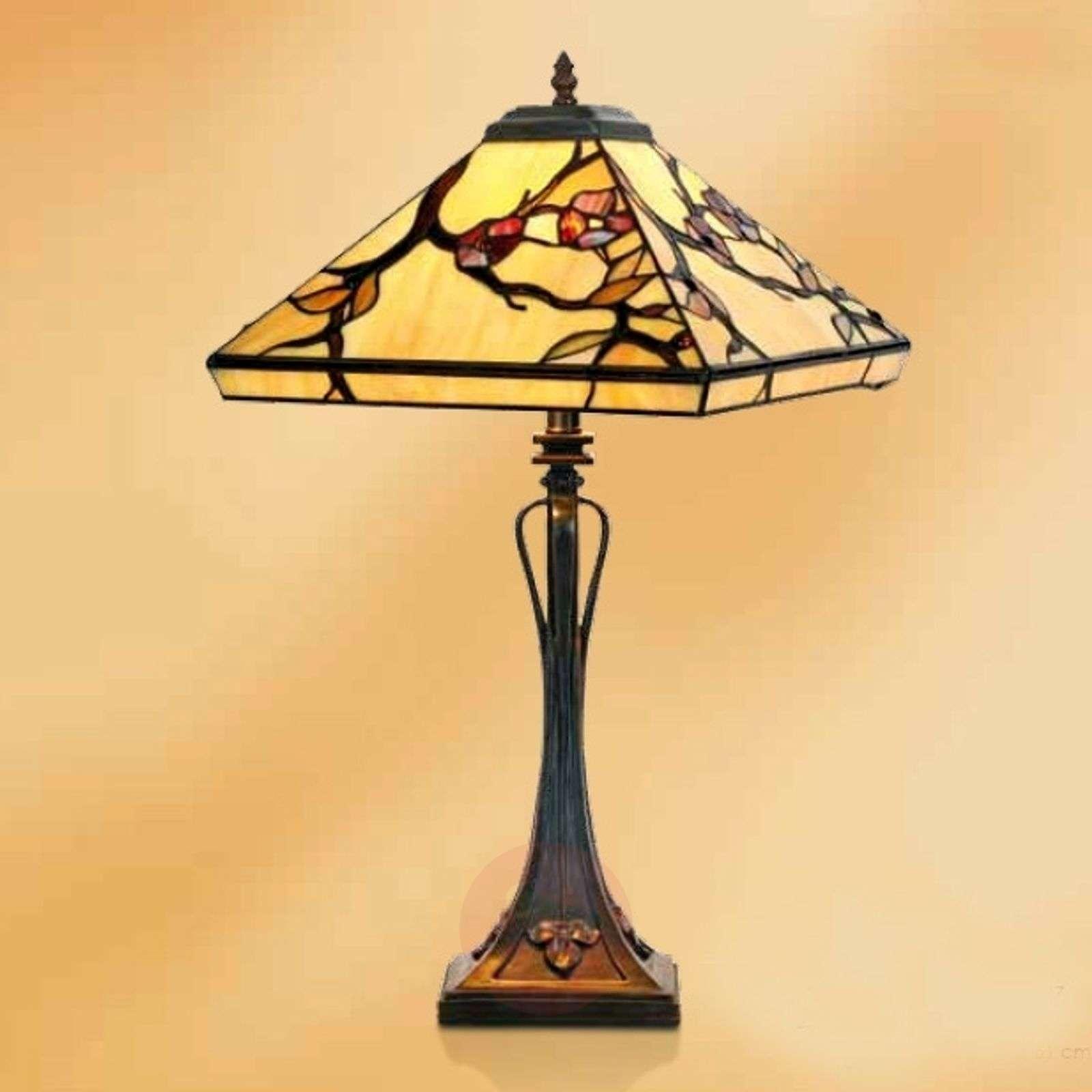 Distinctive table lamp Juliett, Tiffany, 61 cm-1032287-01