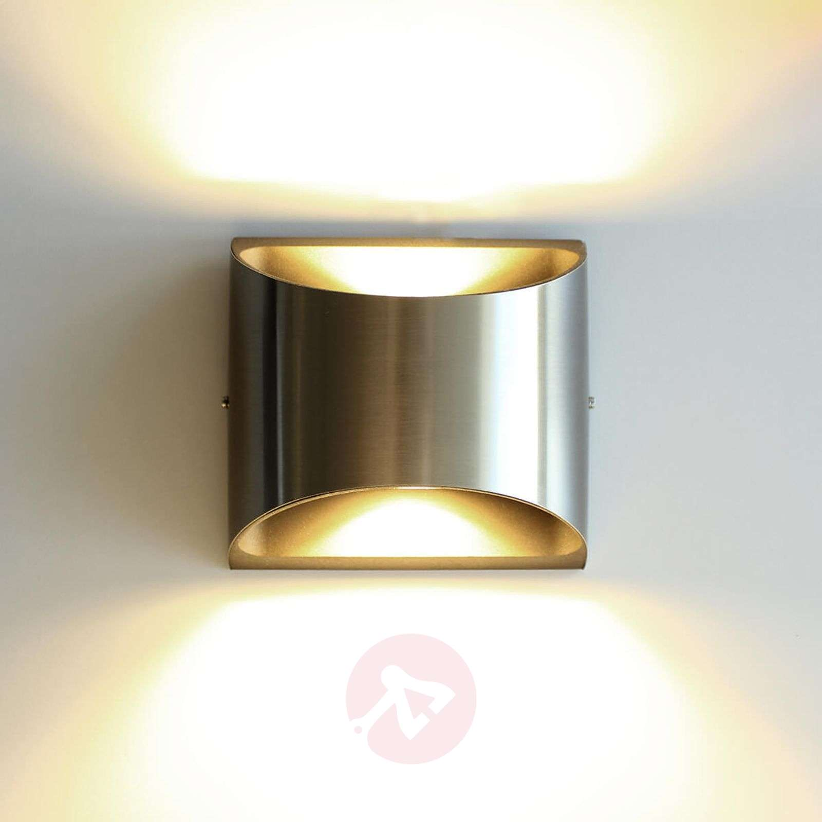 Dodd stainless steel outdoor wall light with LED-3006517-01