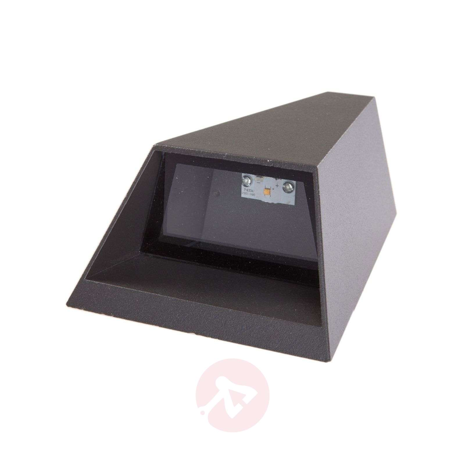 Double shining LED outdoor wall light Jendrik-9616004-01