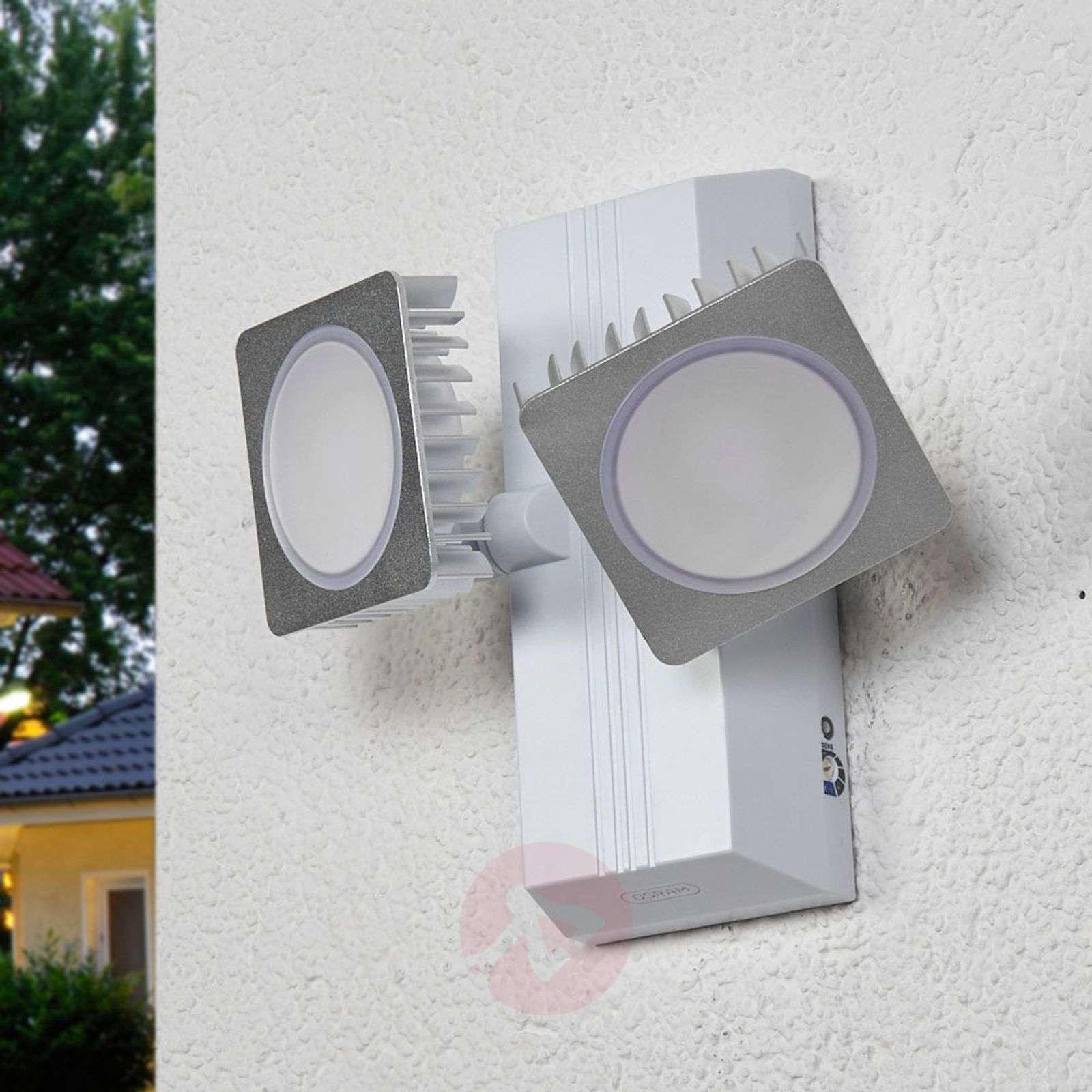 Double spot LED outdoor wall lamp Noxlite Smart-7261127-01