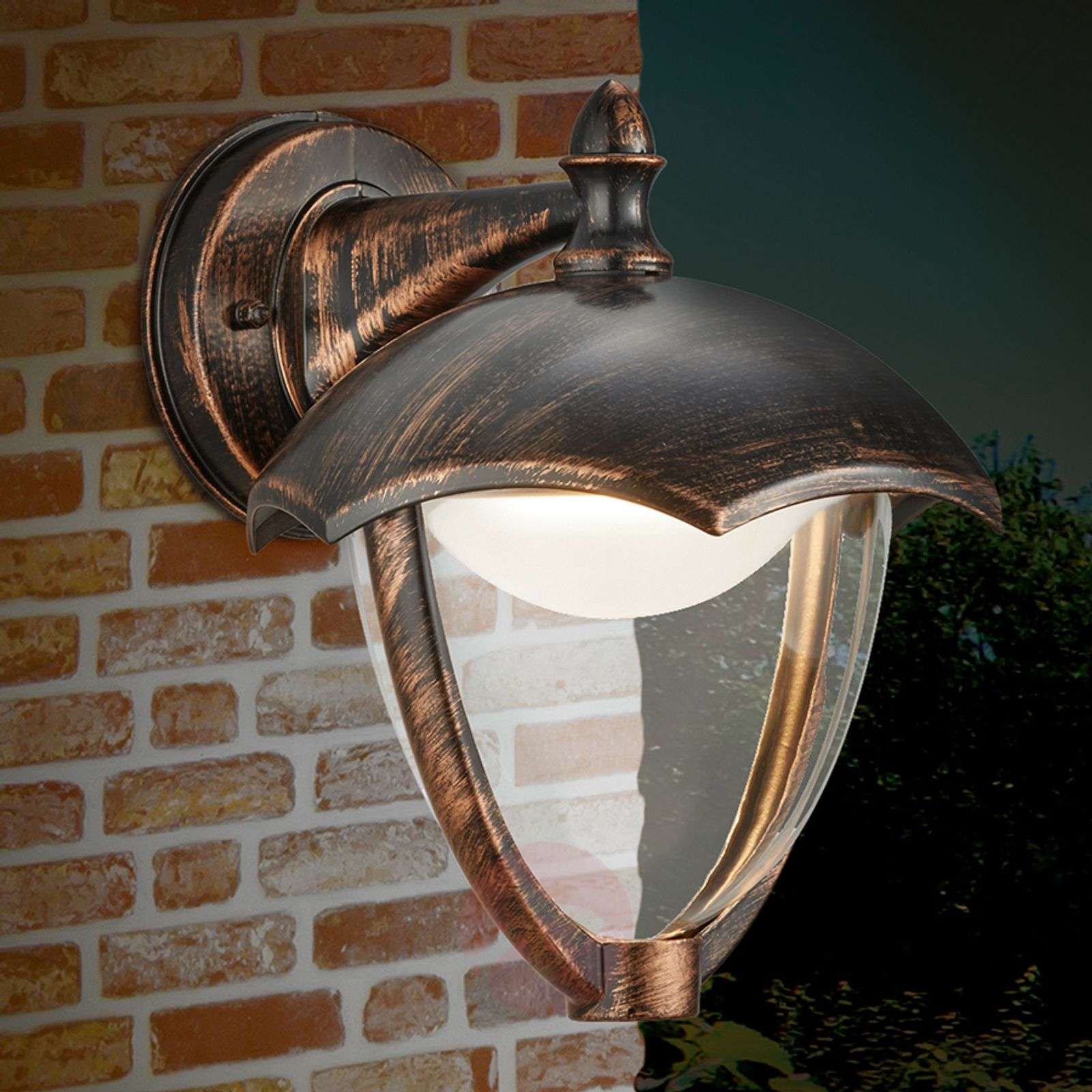 Downlight-LED outdoor wall lamp Gracht-9005320-01