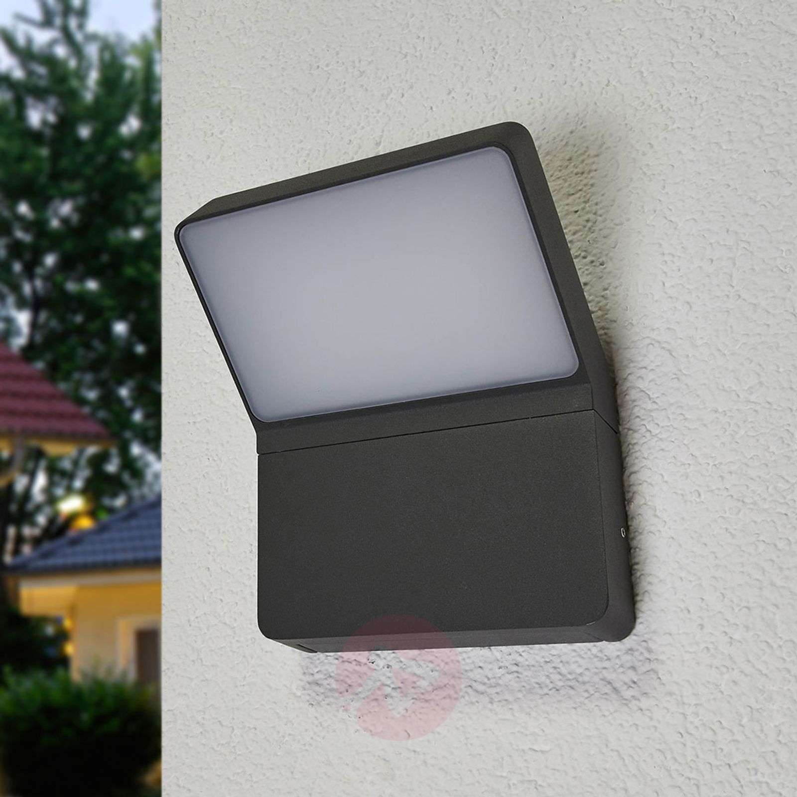 Downlighting LED outdoor wall lamp Evelin-9618105-01