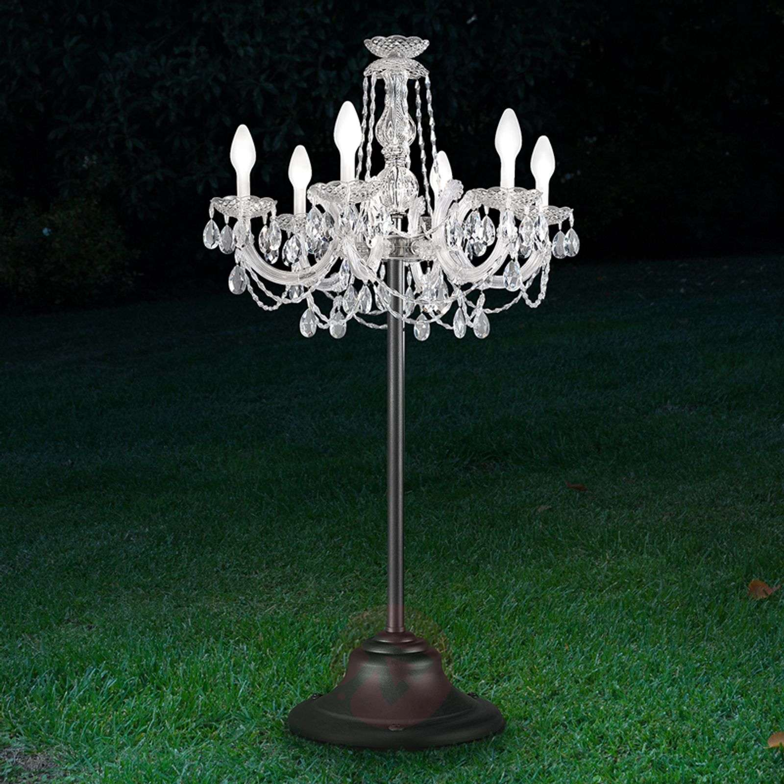 Drylight outdoor LED floor lamp RGBW, controllable-6517267-01