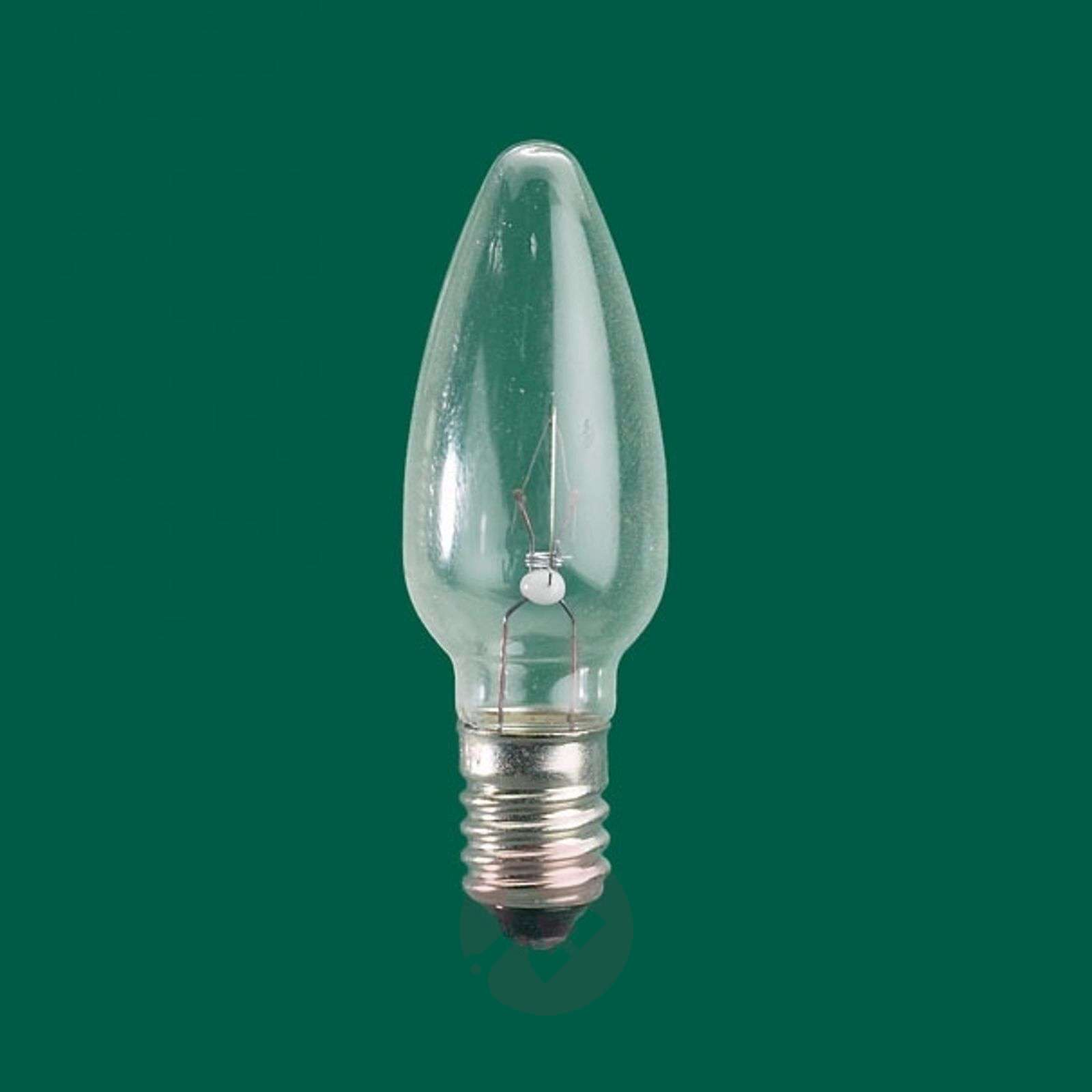 Rotpfeil Weihnachtsbeleuchtung.E10 3 W 12 V Bulbs Pack Of 3 Candle Shape