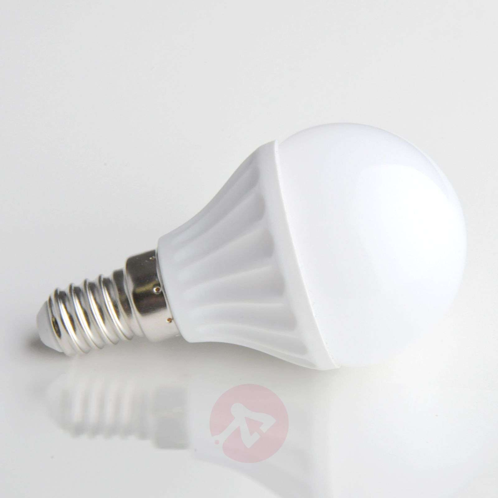 E14 4W 830 LED light in a tear form matte-9620007-05